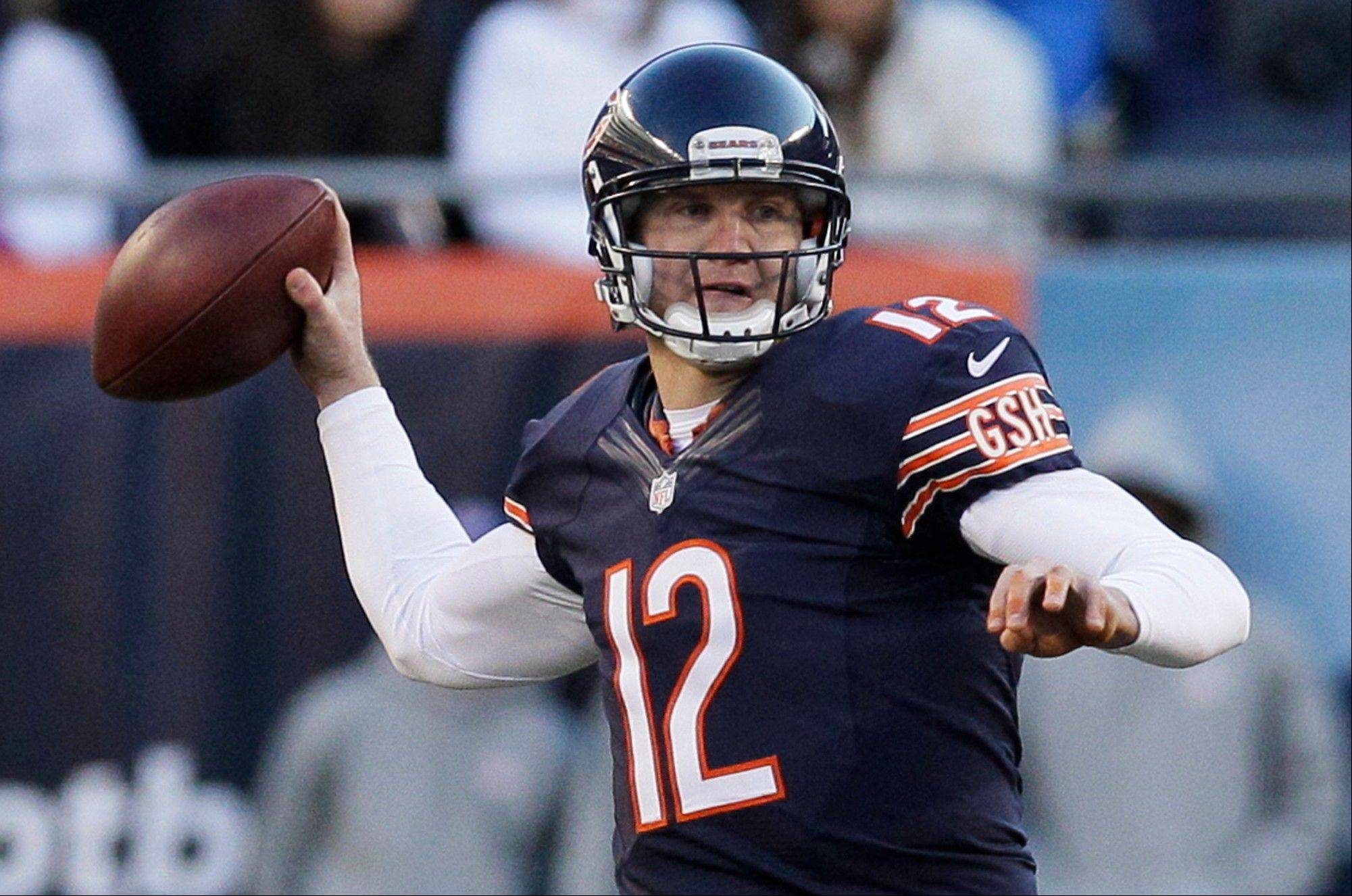 Josh McCown's career passer rating was 71.2 coming into this season, but he's compiled a 103.2 rating thus far in 2013.
