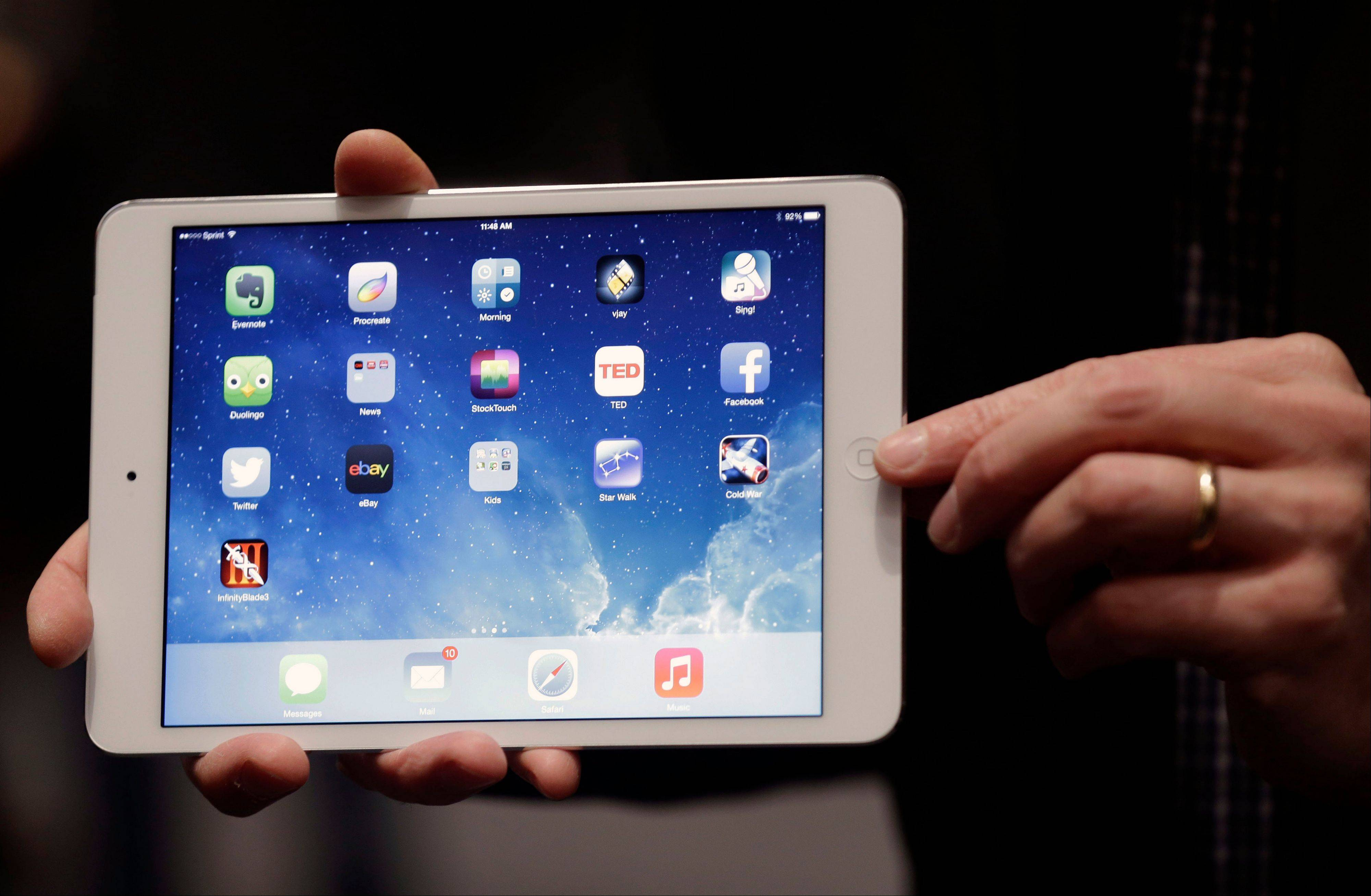 Apple began selling a new iPad Mini on Tuesday without the usual fanfare.