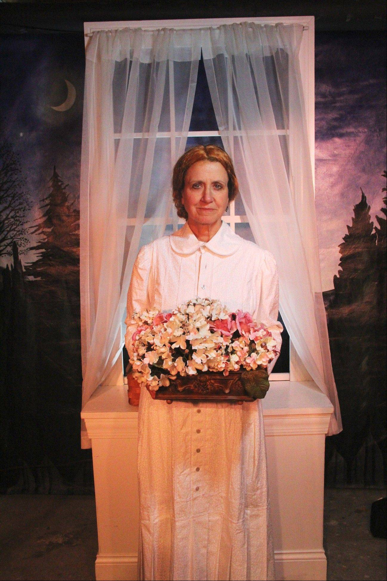 "Actress Betsey Means, pictured, will portray American poet Emily Dickinson in the ""I Dwell in Possibility: An Intimate Evening with Emily Dickinson"" program at the Byron Colby Barn in Prairie Crossing in Grayslake."