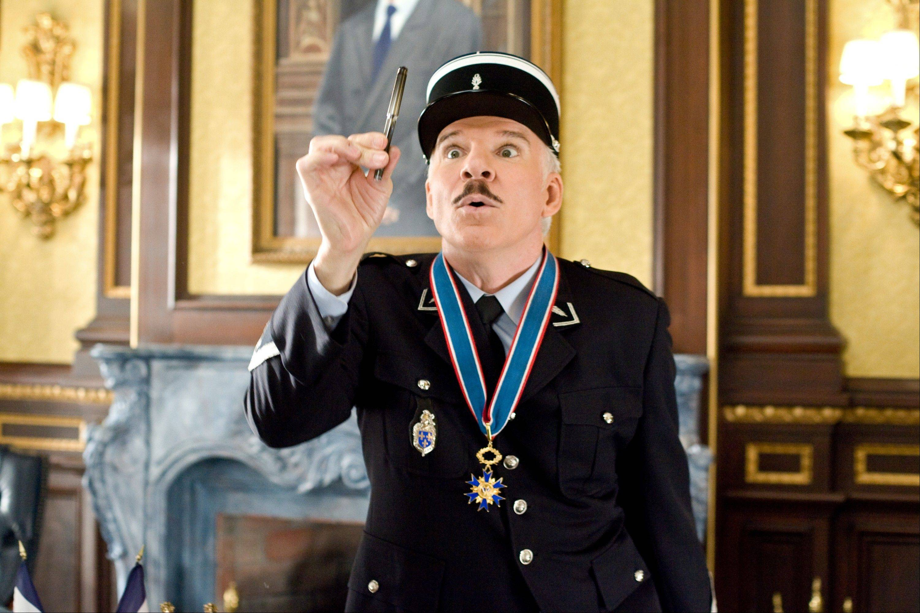 "In this image released by Columbia/Sony Pictures, Steve Martin is shown in a scene from, ""The Pink Panther 2."" The Board of Governors of the Academy of Motion Picture Arts and Sciences will present Honorary Awards to Martin, Angela Lansbury, and Piero Tosi, and the Jean Hersholt Humanitarian Award to Angelina Jolie. All four awards will be presented at the Academy's 5th Annual Governors Awards on Saturday, November 16, 2013, at the Ray Dolby Ballroom at the Hollywood & Highland Center in the Hollywood section of Los Angeles."