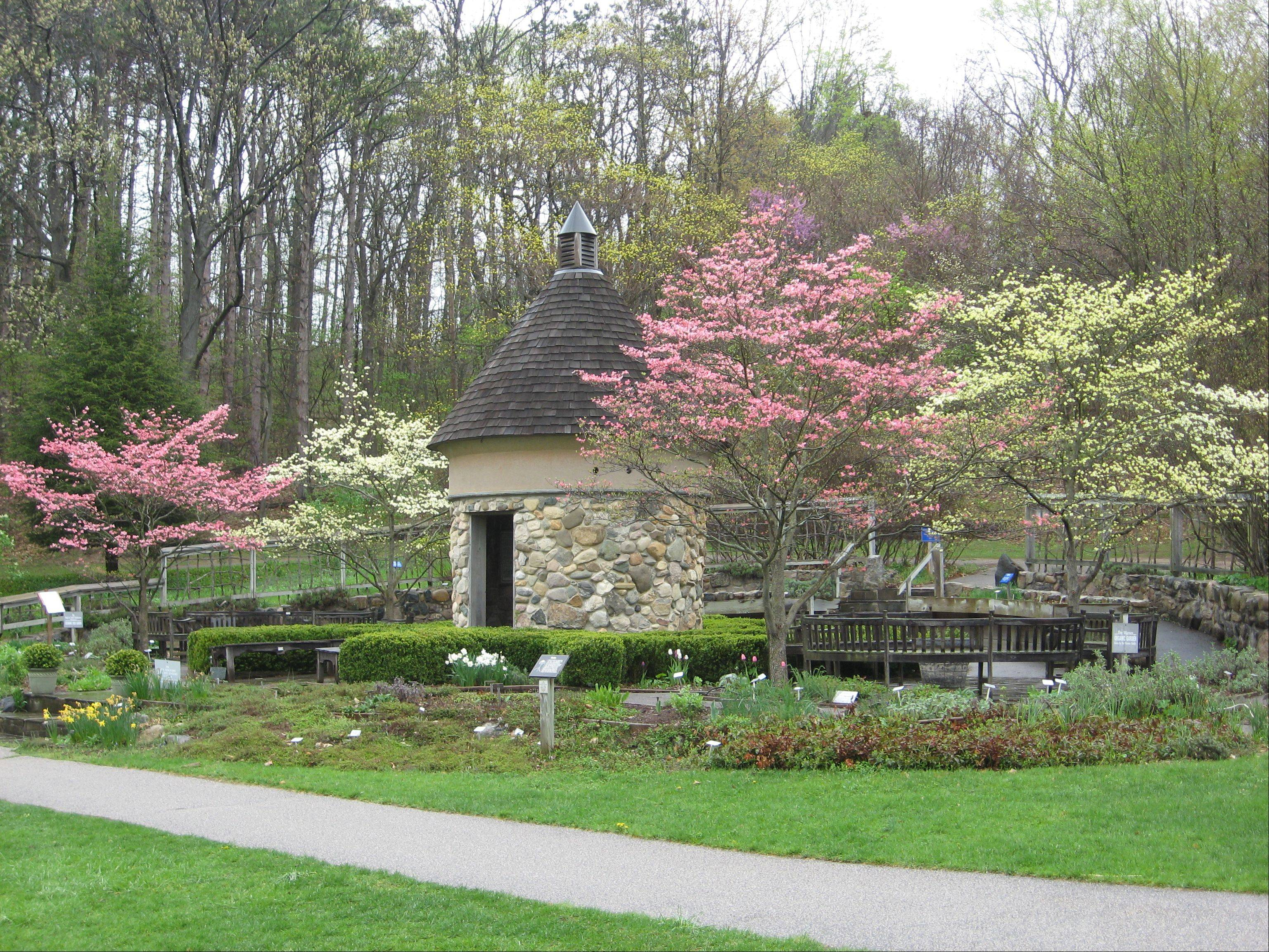 The herb garden at Fernwood Botanical Garden & Nature Preserve in Niles, Mich., is well-worth a visit.