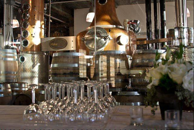 Journeyman Distillery in Three Oaks, Mich., was started two years ago by Bill Welter, who learned to distill whiskey when he traveled to Scotland after college. But the building dates back to the 1880s.