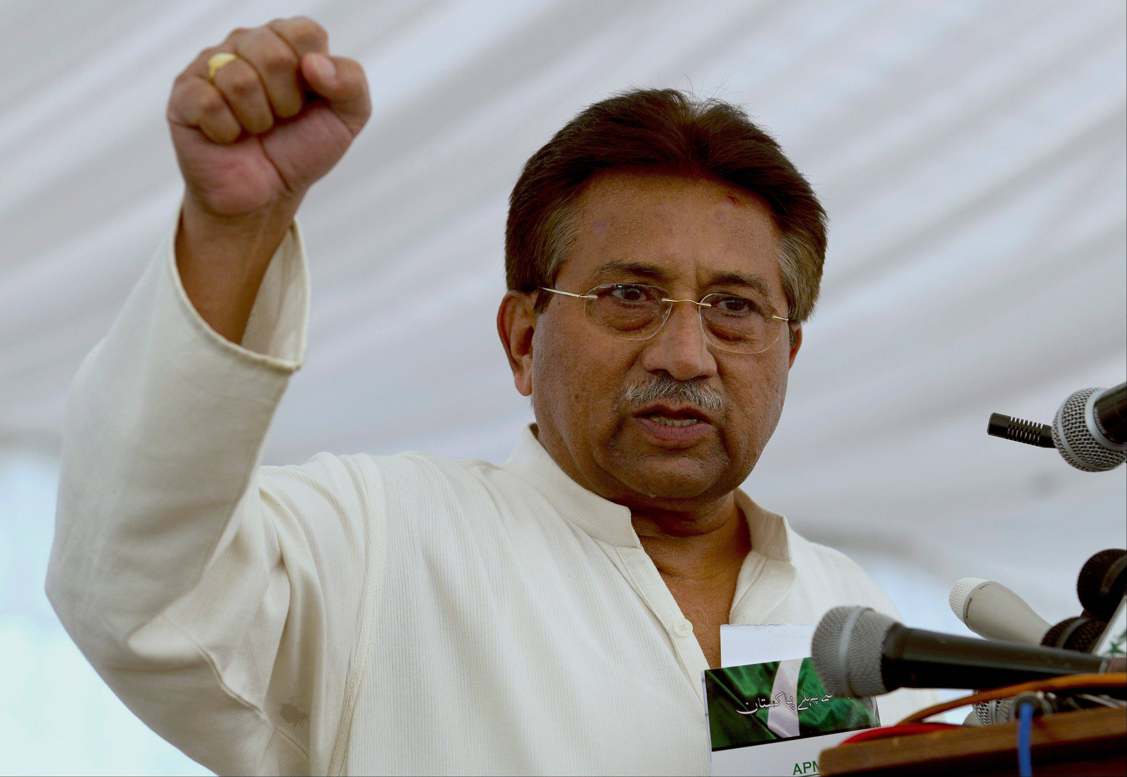 Pakistan's former President and military ruler Pervez Musharraf will face trial for treason under Article 6 of the constitution for declaring a state of emergency in 2007 and suspending the constitution.