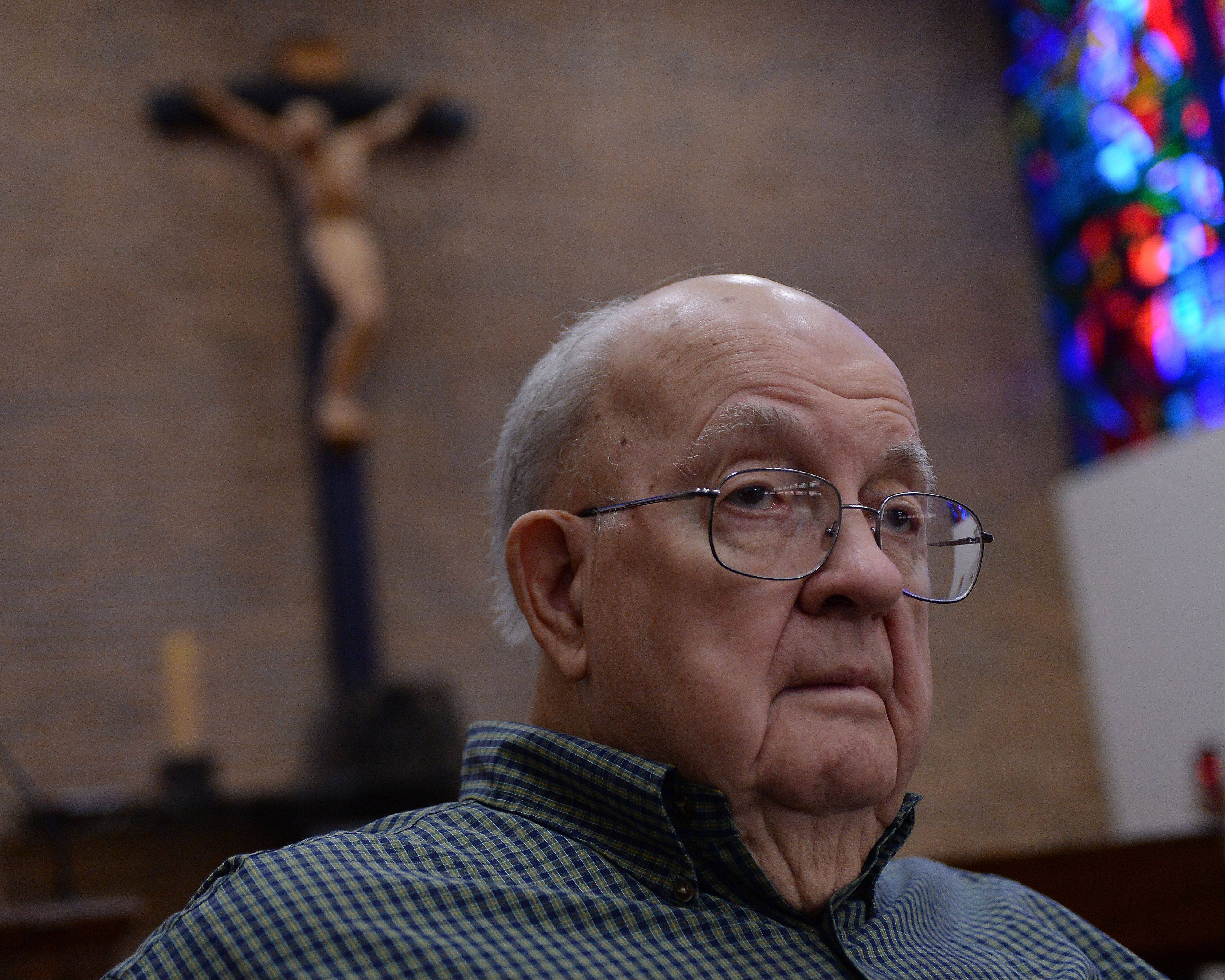 """I liked him because he was a breath of fresh air,"" the Rev. Jim Michaletz, 82, of the Clerics of St. Viator, said about John F. Kennedy. ""I did not vote for him because he was Catholic."" Michaletz was a teacher at St. Viator High School in Arlington Heights at the time Kennedy was killed. He recalls sitting in stunned silence with his students as they listened to the radio."