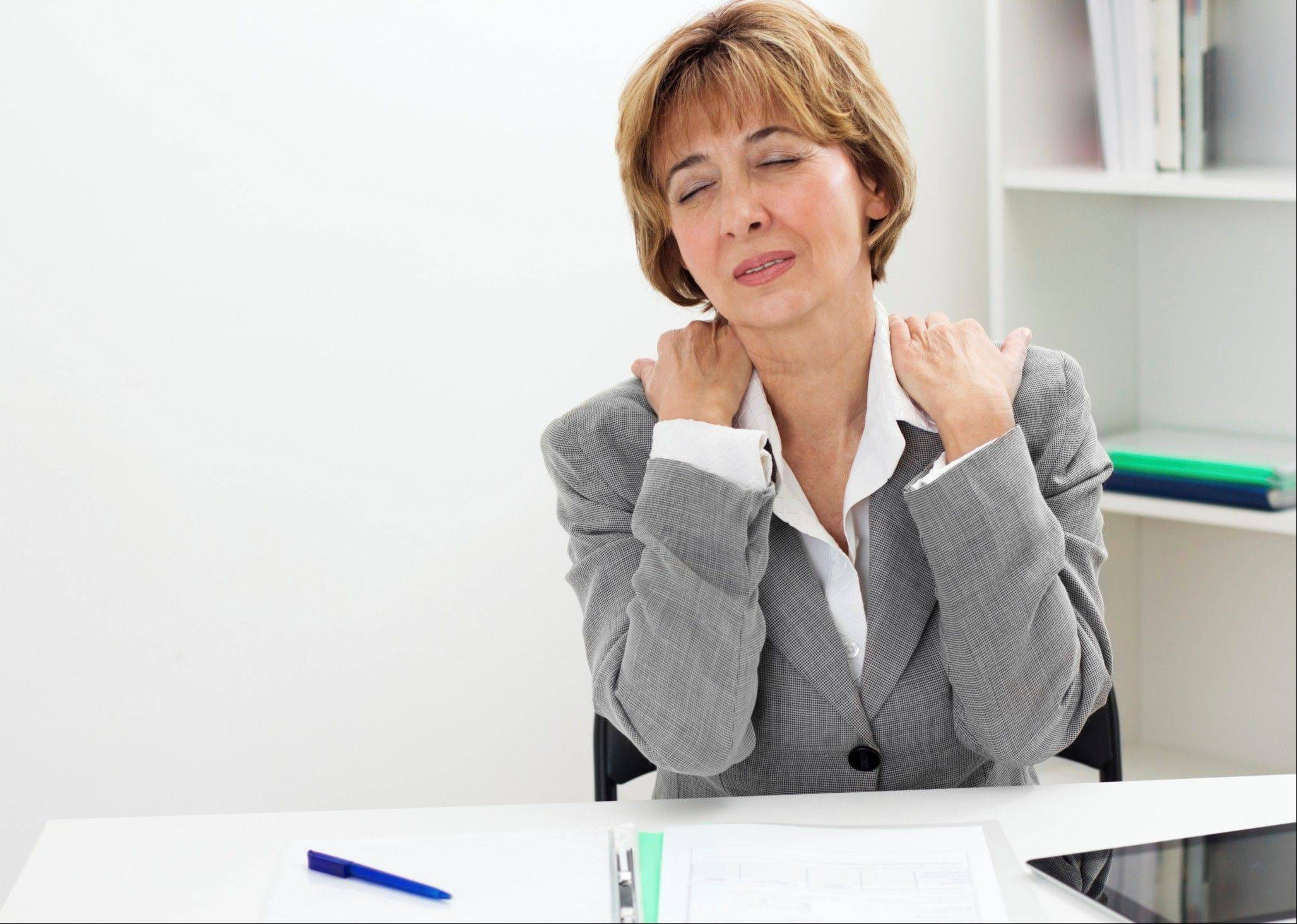To help avoid neck pain, don't stay in one position for too long. If you get up and move around often enough, you'll avoid getting your neck stuck in an unhealthy position, advises Dr. Zacharia Isaac of Harvard Medical School.