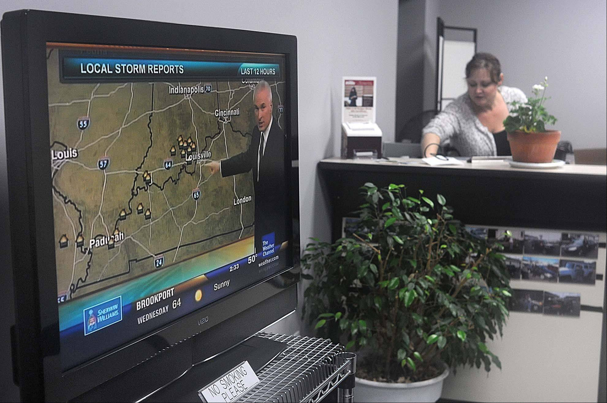 As part of a redesign that debuted last week, Weather Channel viewers will be able to see their local forecasts on-screen whenever they tune in, even during commercials.