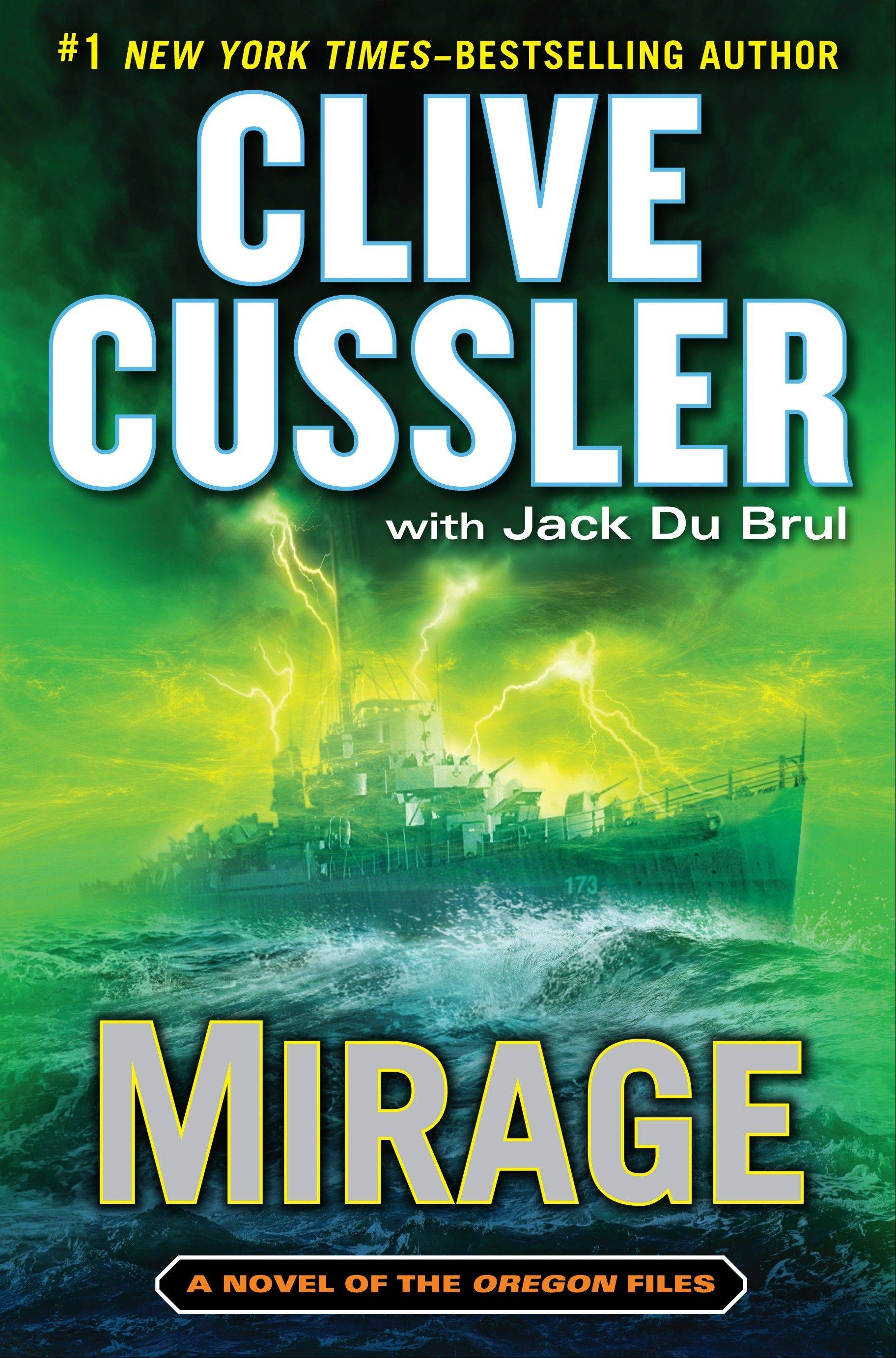 """Mirage"" is the latest book by Clive Cussler with Jack Du Brul."