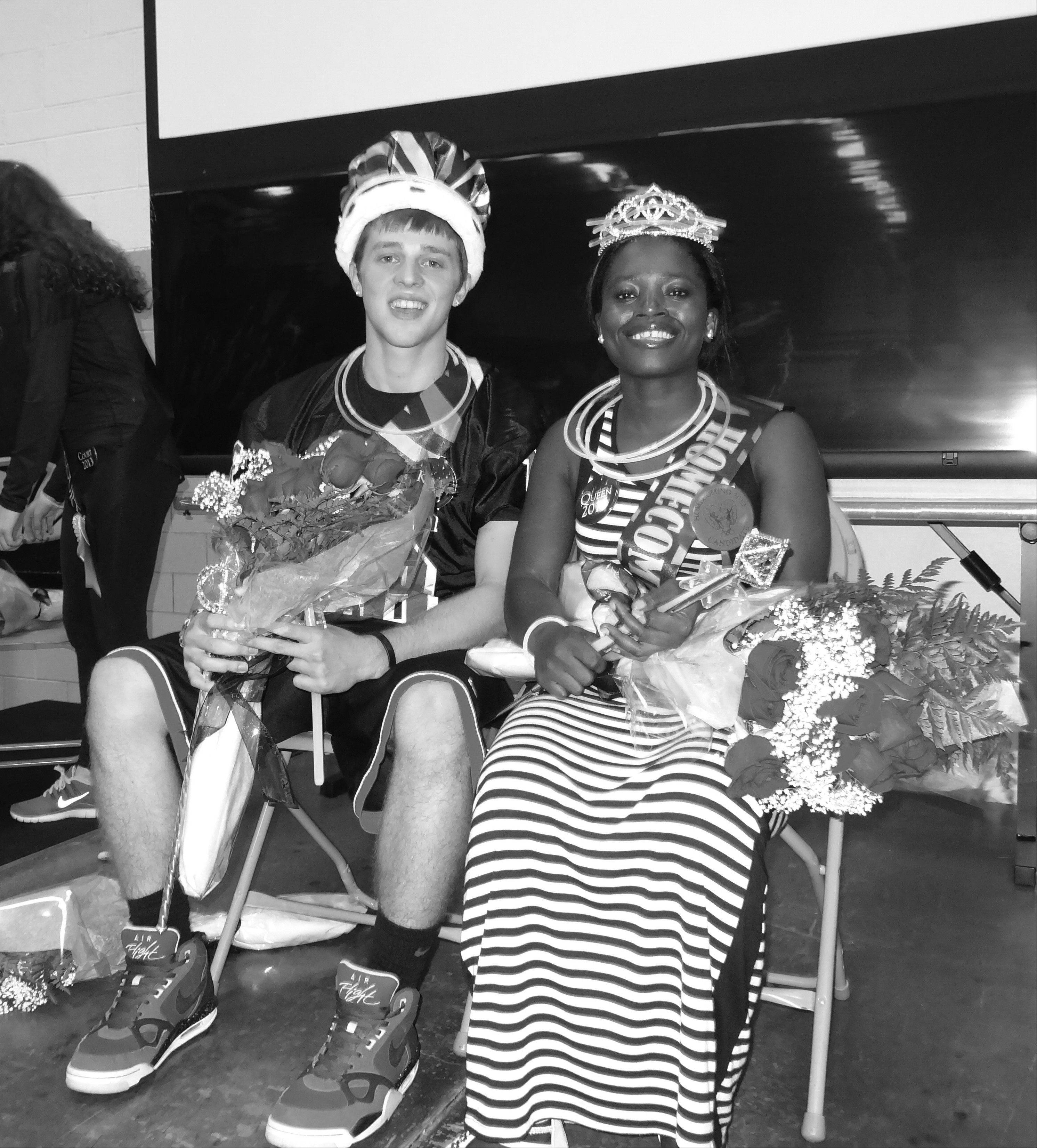 Students at Glenbard East High School in Lombard selected senior Kumba Queewa, a refugee from Sierra Leone, as their homecoming queen.