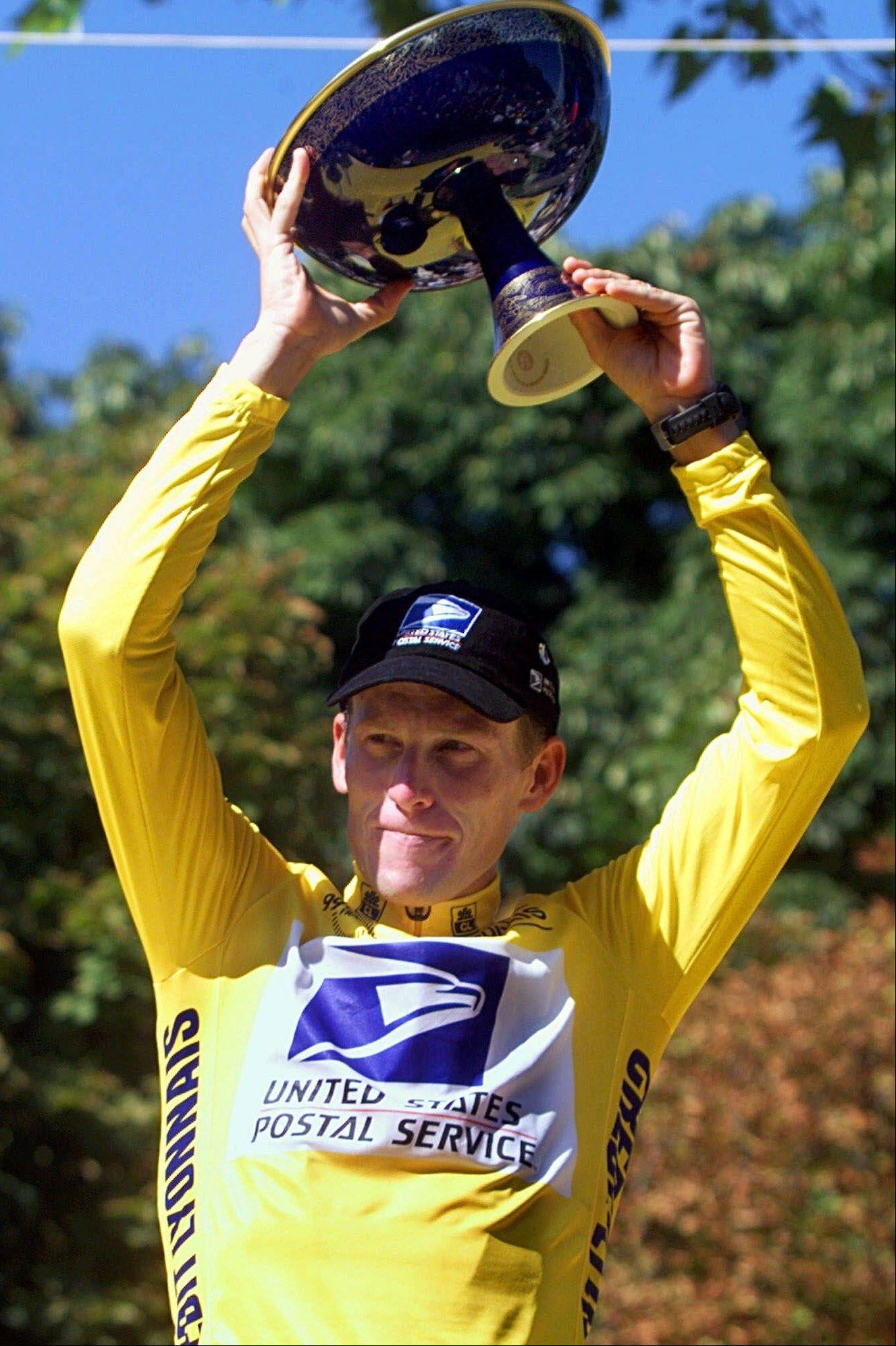 Lance Armstrong's 1999 Tour de France win was the first of his seven tainted titles.