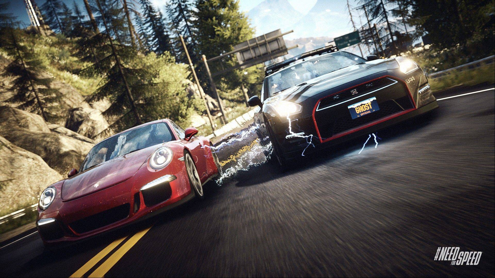 "The freewheeling approach to ""Need for Speed: Rivals"" makes for a game that's completely easy to pick up and play for five minutes or five hours."