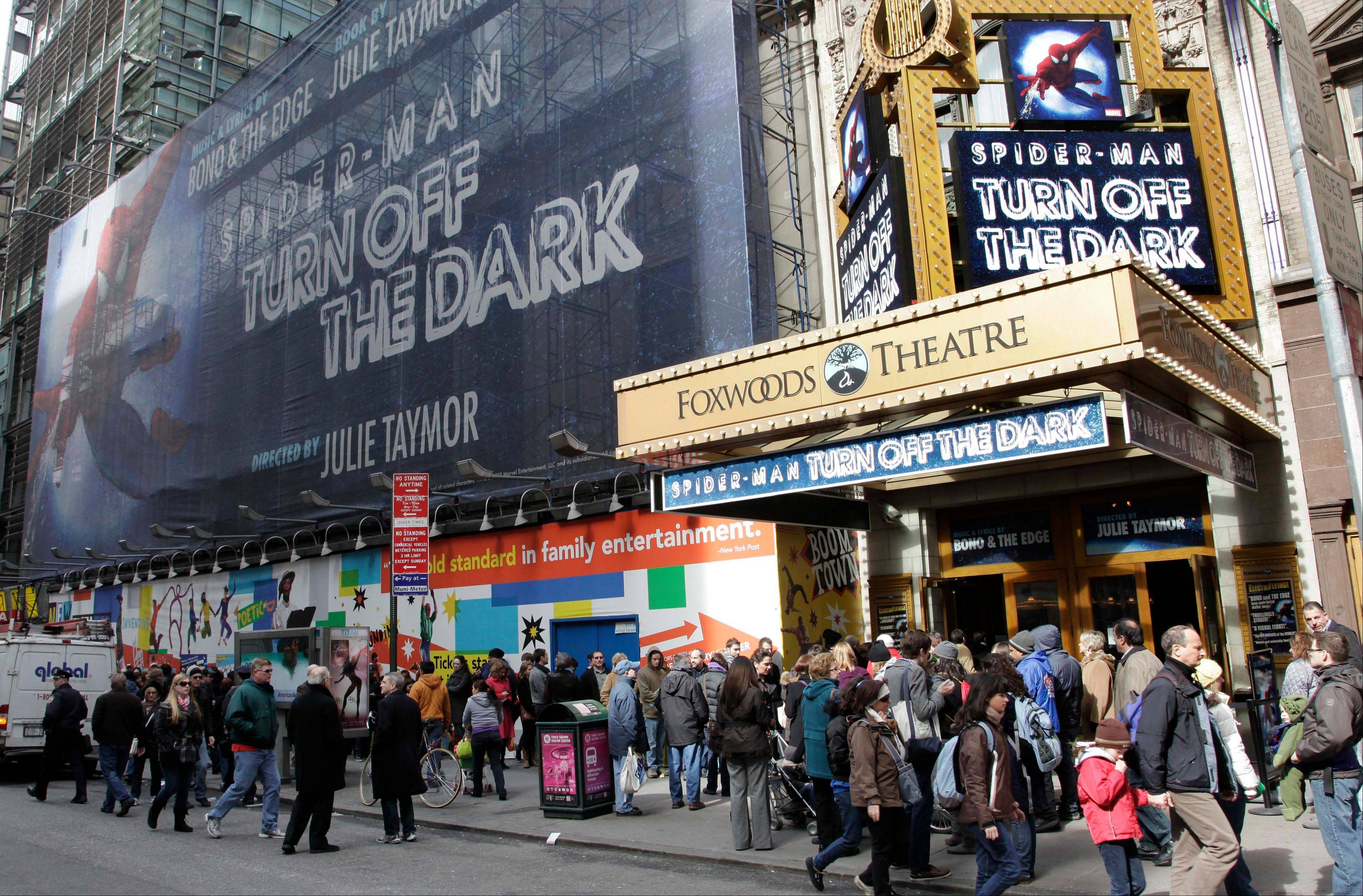 Producers are turning the lights off forever on the Spider-Man musical on Broadway in early 2014. It will head to Las Vegas.