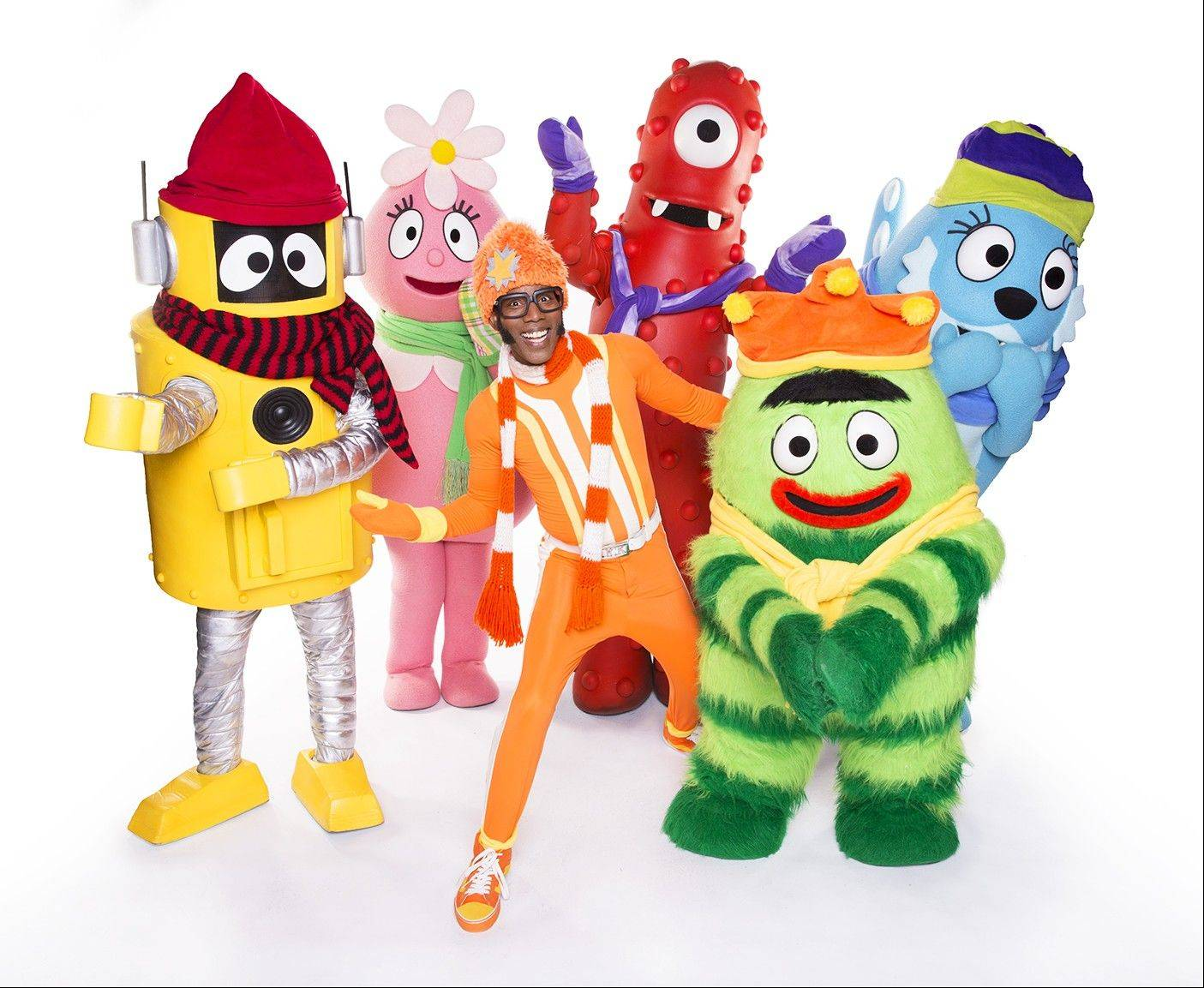 """A Very Awesome Yo Gabba Gabba! Live! Holiday Show"" plays the Rosemont Theatre for four shows on Saturday and Sunday, Dec. 14 and 15."