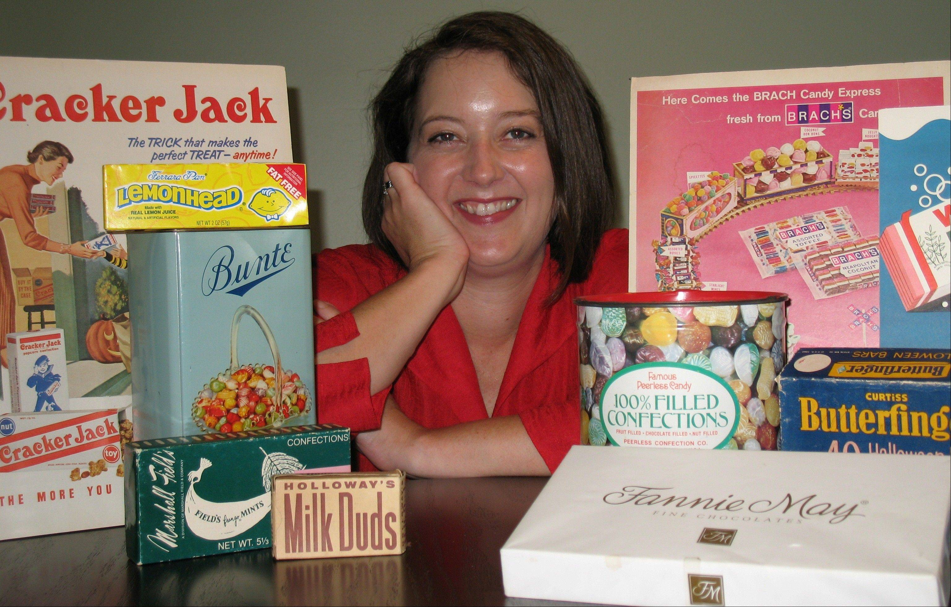 "Leslie Goddard presents Chicago's ""Sweet Candy History"" this Sunday at the Prairie Center for the Arts in Schaumburg."