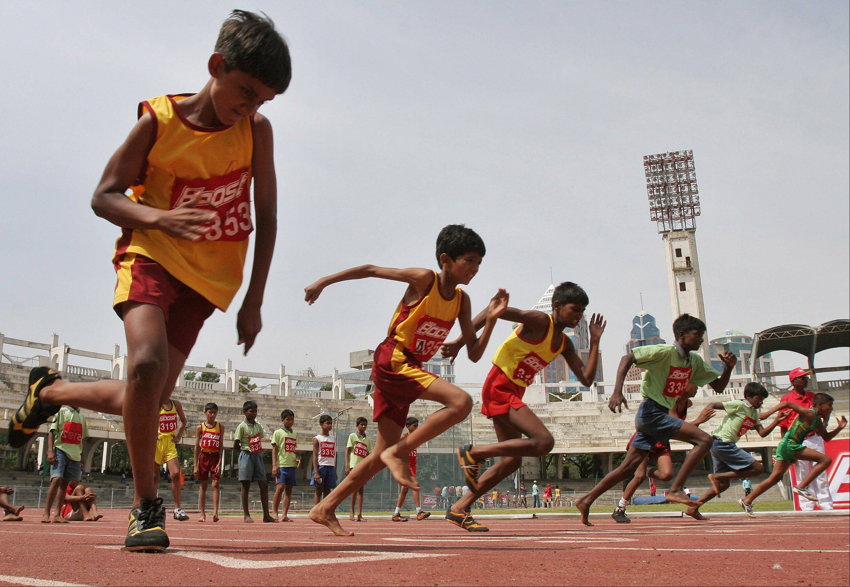 An analysis of studies on 250 million children around the world finds they don't run as fast or as far as their parents did when they were young. Research featured at the American Heart Association's annual conference on Tuesday showed that, on average, children 9 to 17 take 90 seconds longer to run a mile than their counterparts did 30 years ago.