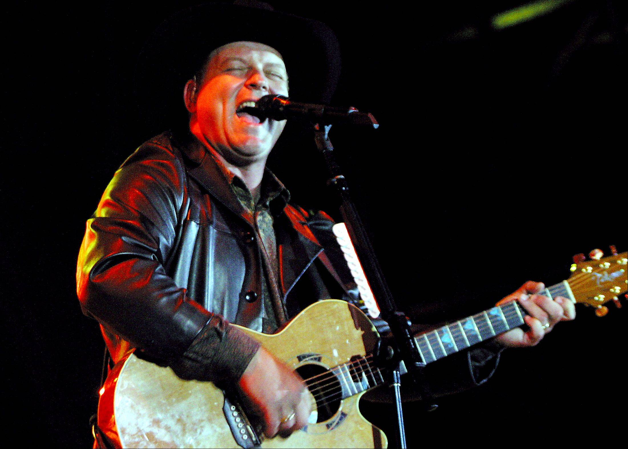 John Michael Montgomery performs in Naperville.