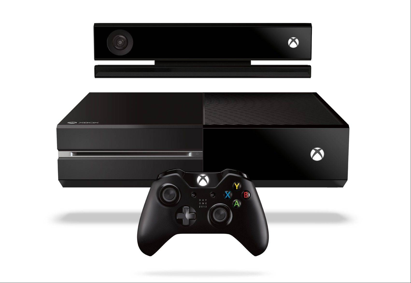 The Xbox One will be in stores Friday, Nov. 22.
