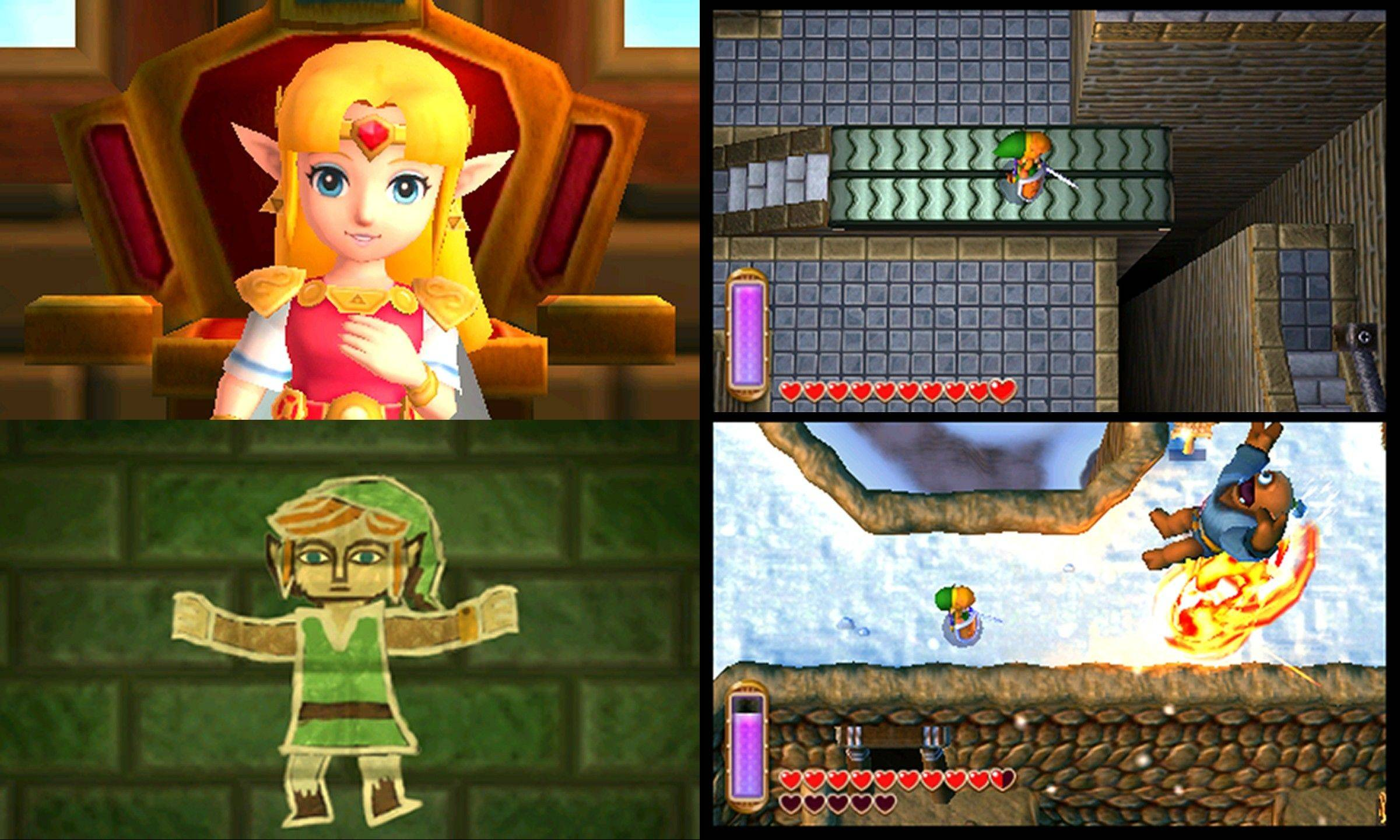 "The thoughtfully crafted ""The Legend of Zelda: A Link Between Worlds"" really should be experienced in 3-D."