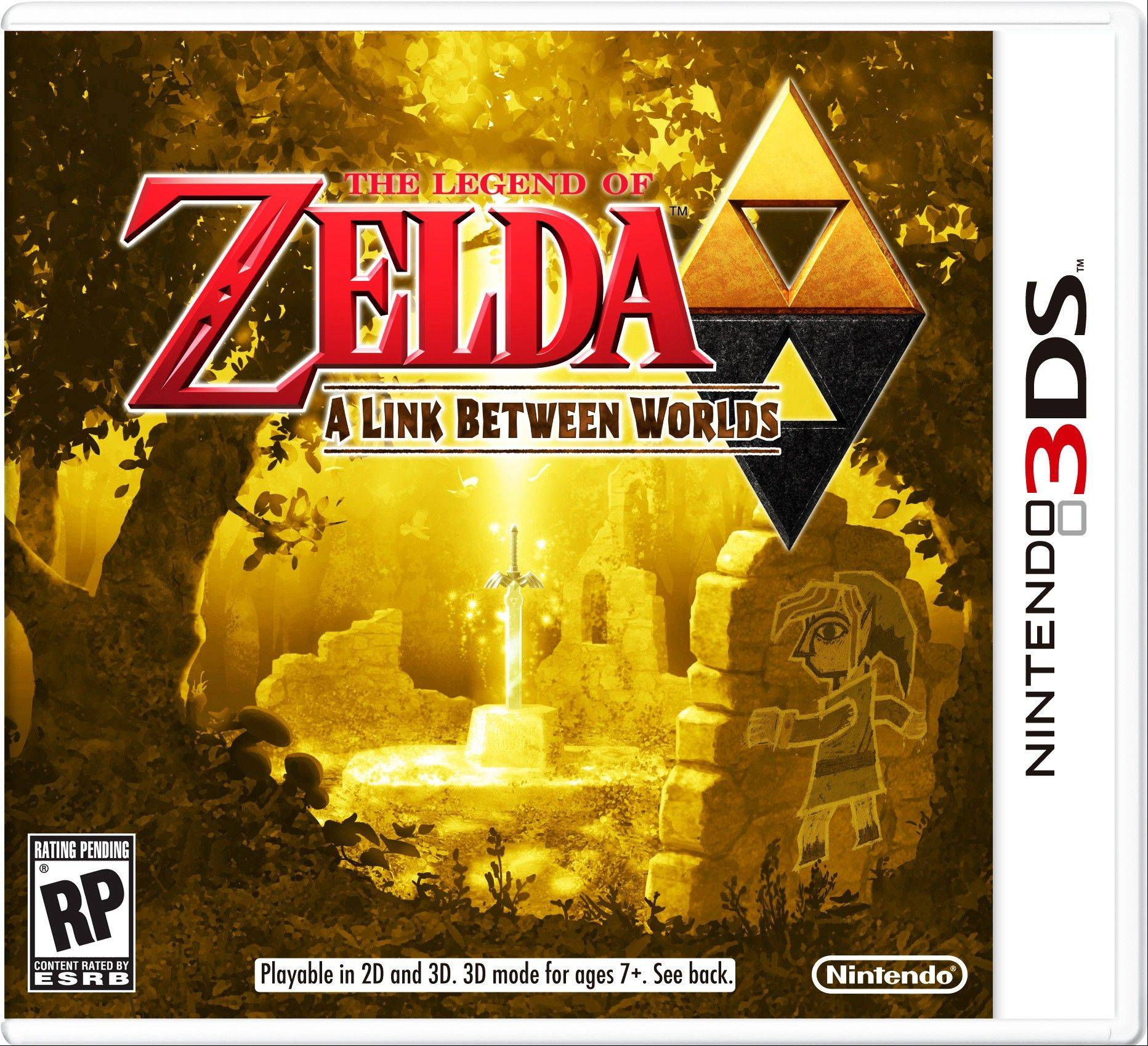 """The Legend of Zelda: A Link Between Worlds"" practically demands to be played beyond two dimensions."