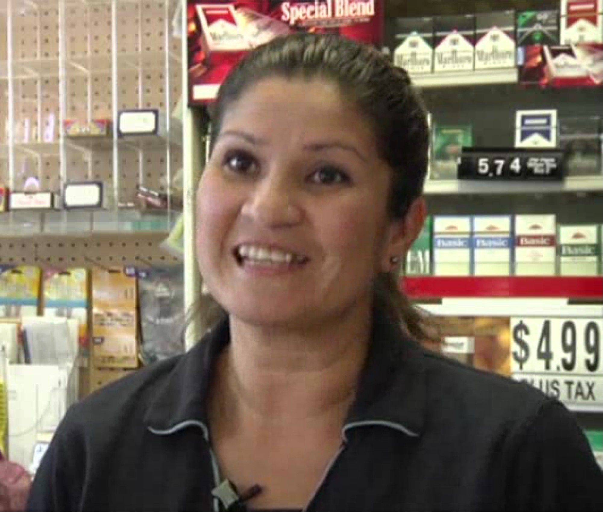 Nidia Tannous, owner of the Carrollwood Market in suburban Tampa Florida that sold the winning $16 million Powerball ticket Saturday, May 25. Those lottery winnings expire Thursday, Nov. 21, if someone doesn't claim the ticket.