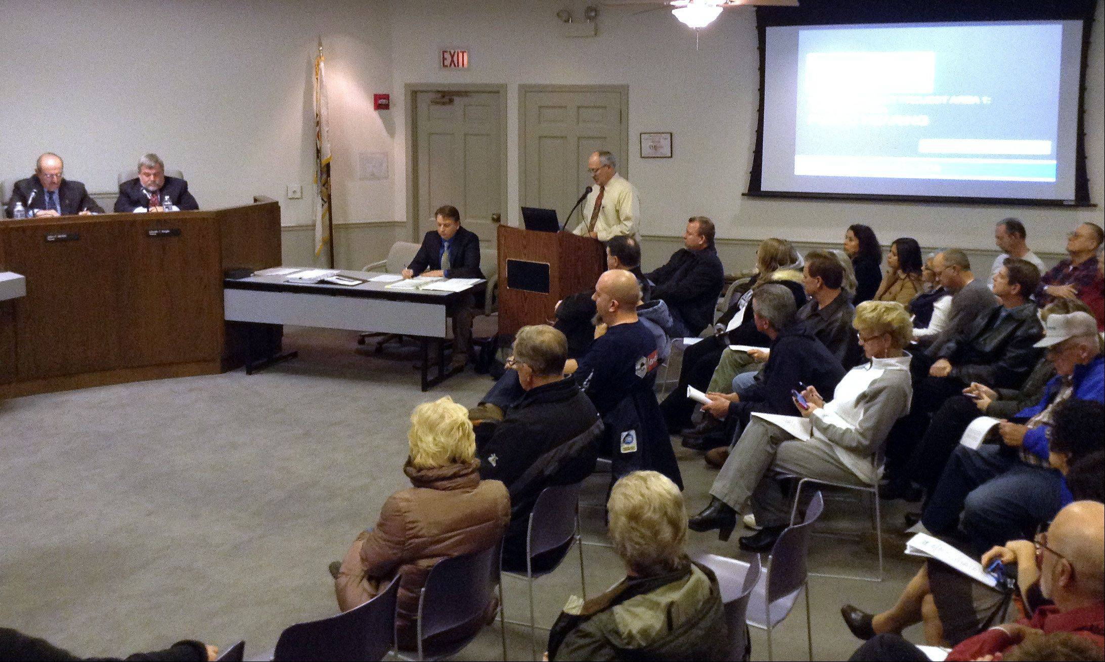 Wauconda holds hearing on tax district plan