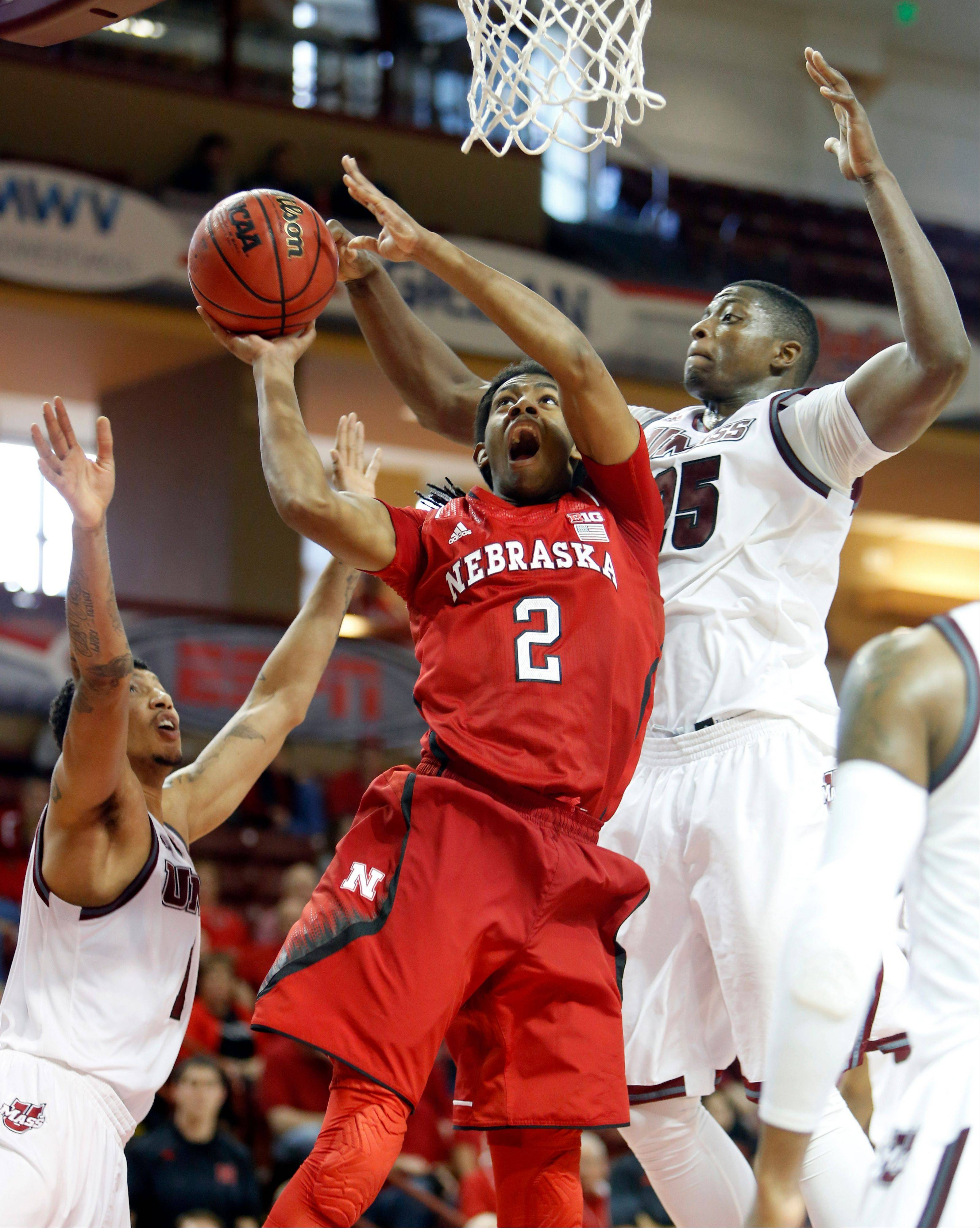 UMass downs Nebraska 96-90