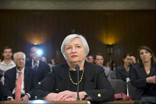 A Senate panel has advanced Janet Yellen's nomination to lead the Federal Reserve, setting up a final vote in the full Senate.