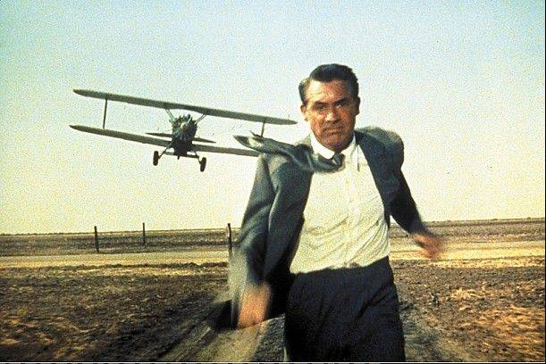 "Cary Grant stars in ""North By Northwest,"" part of a special 30th anniversary celebration at the Music Box Theatre in Chicago."