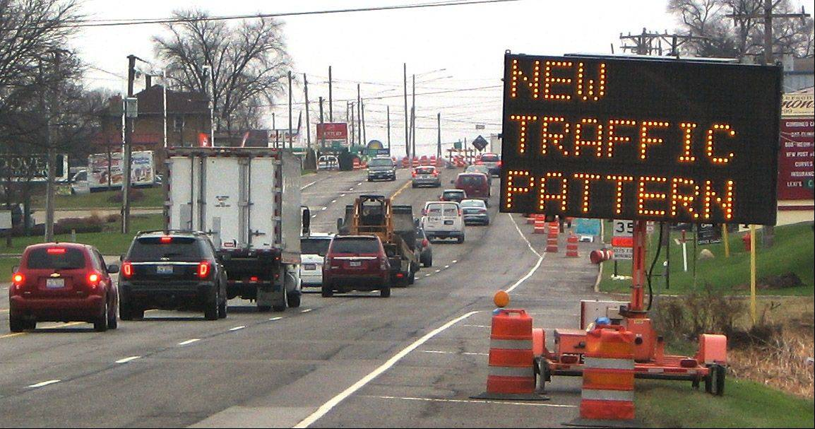 New traffic patterns to begin along Route 137 in Libertyville.