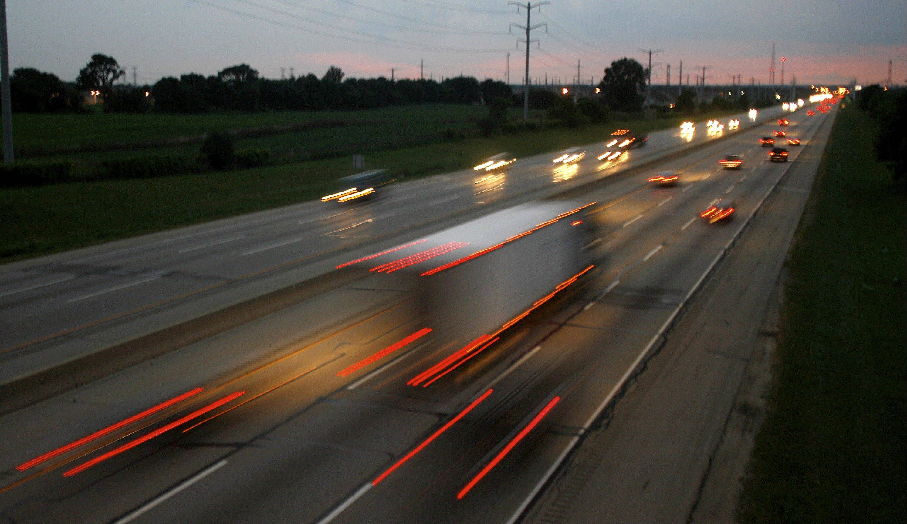 Daily Herald File PhotoShould speed limits on local highways and tollways go up to 70 mph?