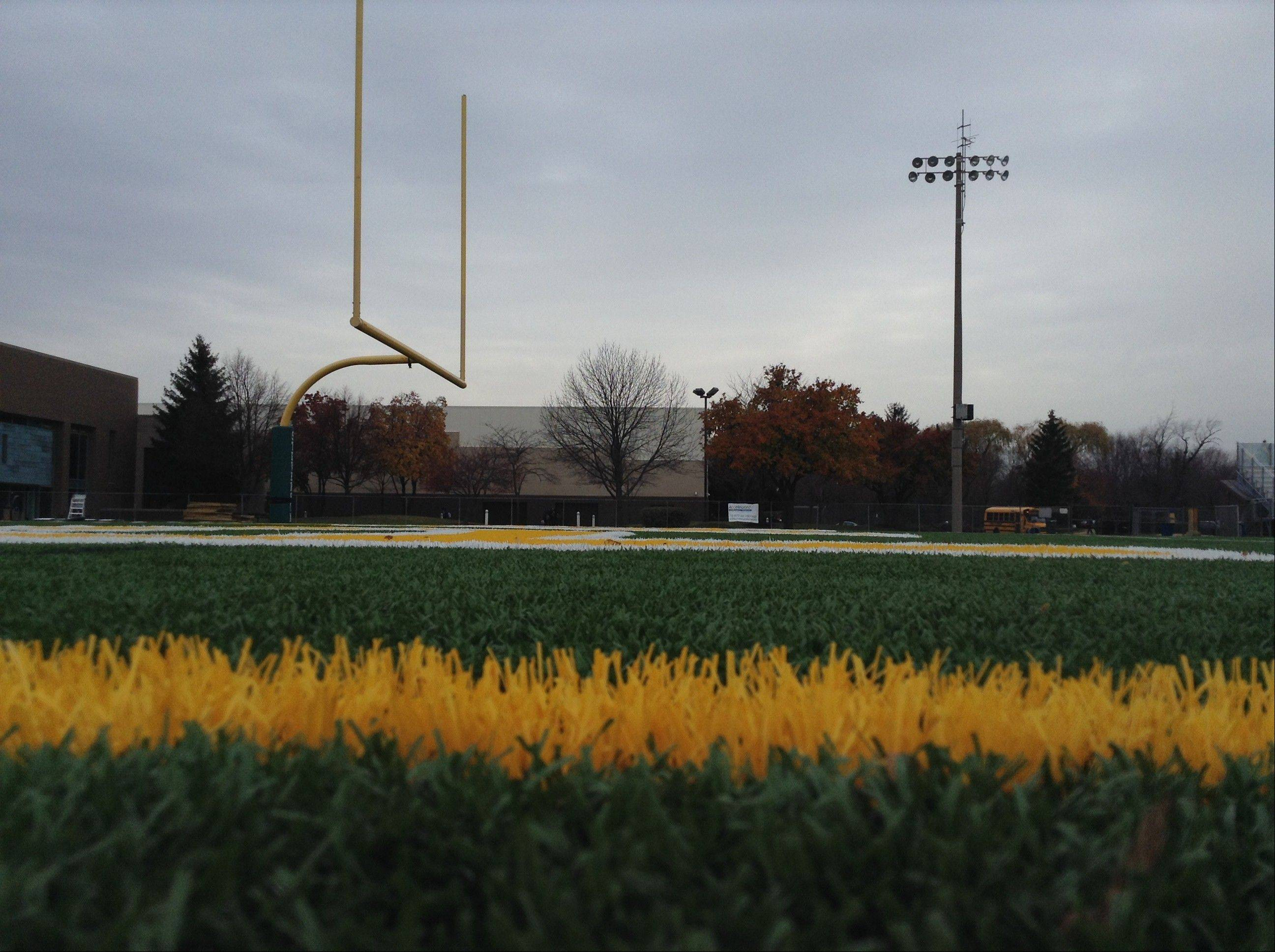 Stevenson High School officials will meet with a consultant Saturday morning to discuss improvements at the Lincolnshire school's stadium.