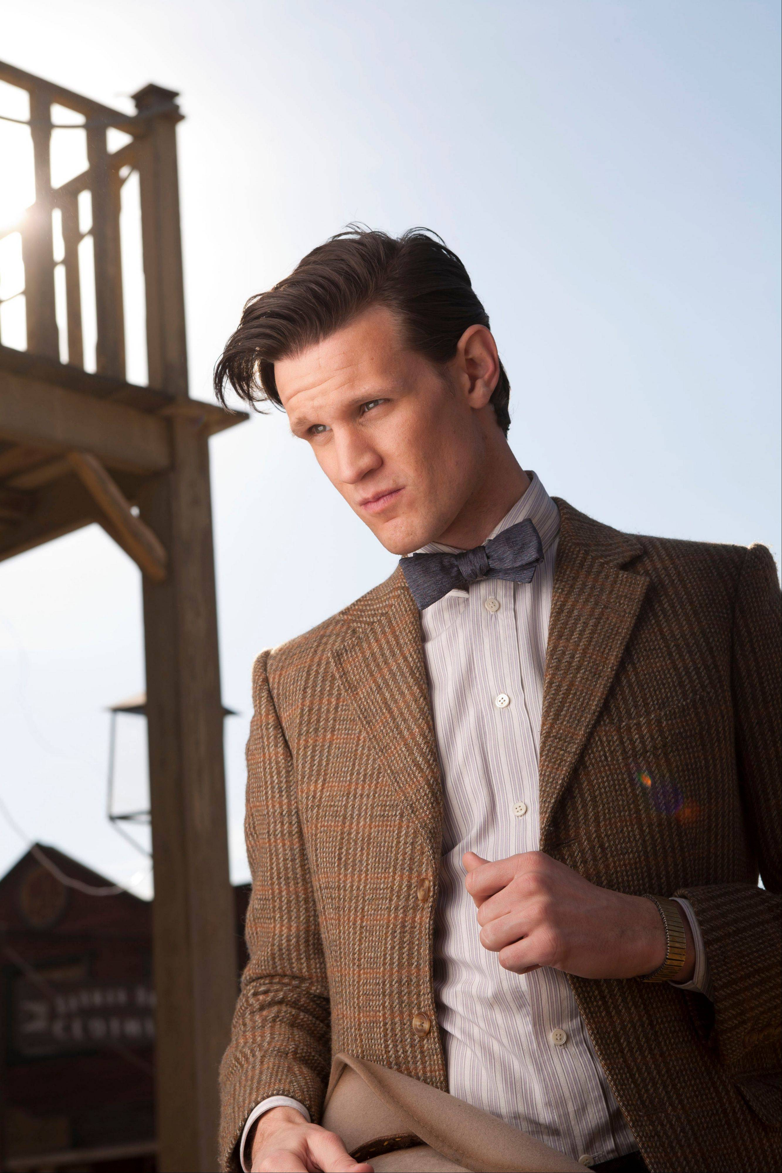"Matt Smith as The Eleventh Doctor in ""Doctor Who,"" which is turning 50 this weekend. The BBC is throwing a broadcasting blowout for the sci-fi show, which began with little fanfare and few expectations on Nov. 23, 1963 but is now one of its biggest hits and major exports."