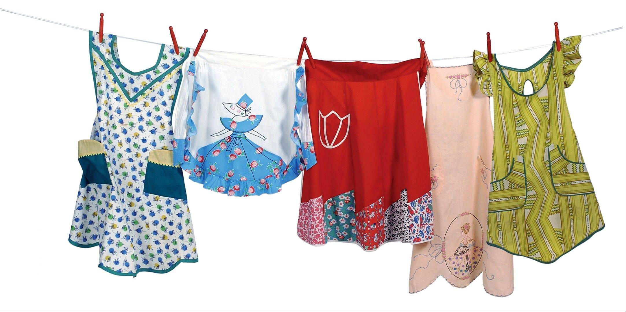 Every apron tells a story. Despite the nostalgia of wearing an old apron, crafters still enjoy hand-making their own.