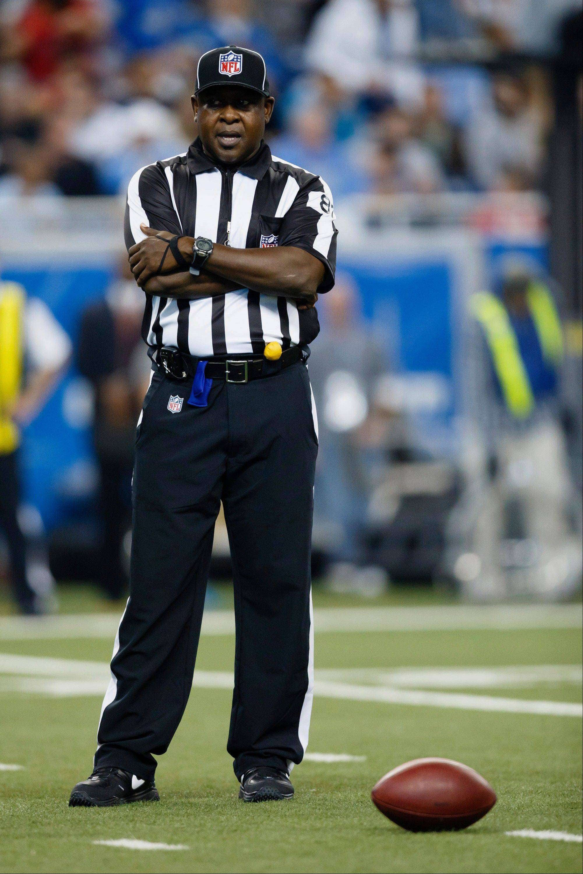 "The NFL on Friday suspended umpire Roy Ellison for one game without pay for making ""a profane and derogatory statement"" to a Washington player last Sunday."