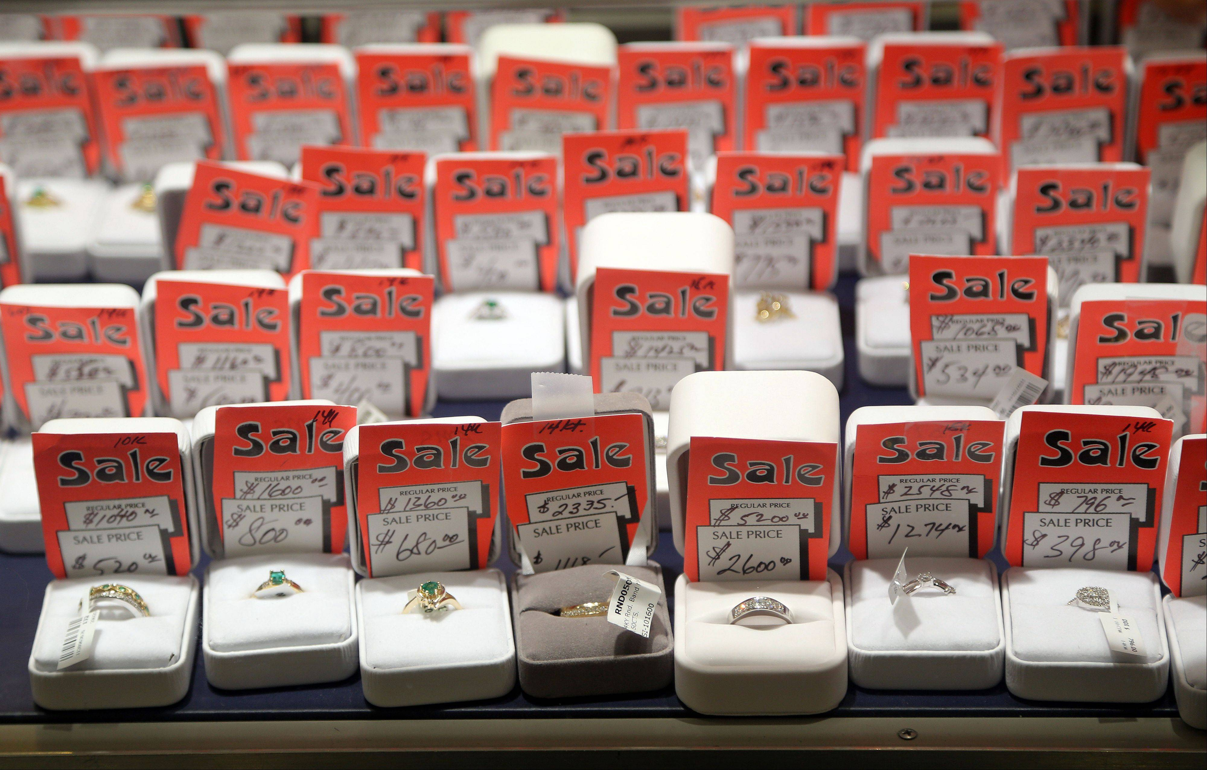 All of Julian Persin's merchandise is on sale as he tries to liquidate his inventory. Persin has owned Persin & Persin jewelry store in Antioch for nearly 30 years and he's retiring.