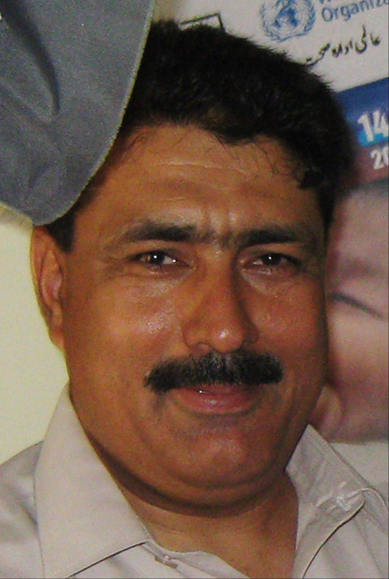 Pakistani doctor Shakil Afridi in Pakistan's tribal area of Jamrud in Khyber region.