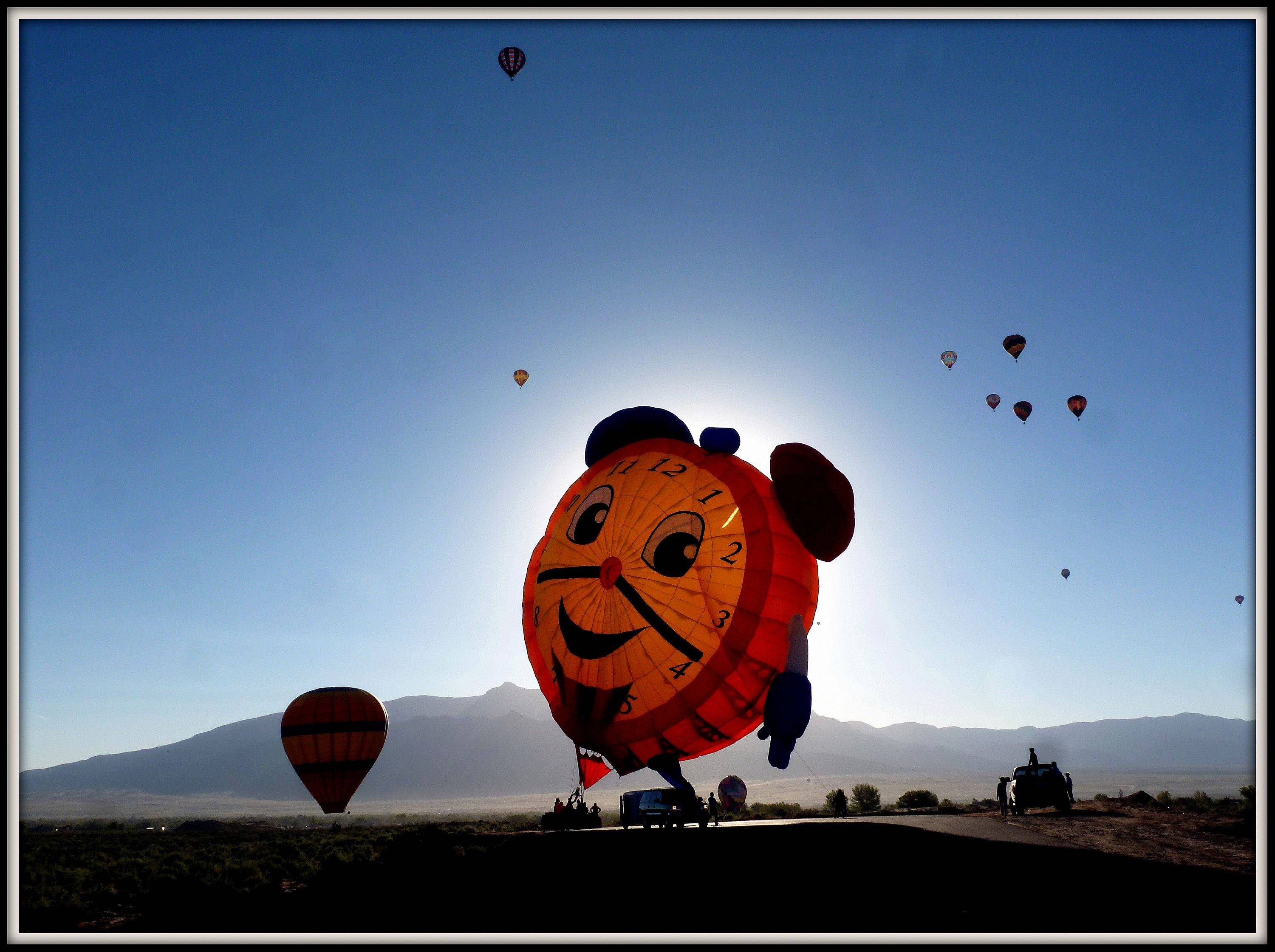 This is this year's International Balloon Fiesta 2013 held in Albuquerque, New Mexico.
