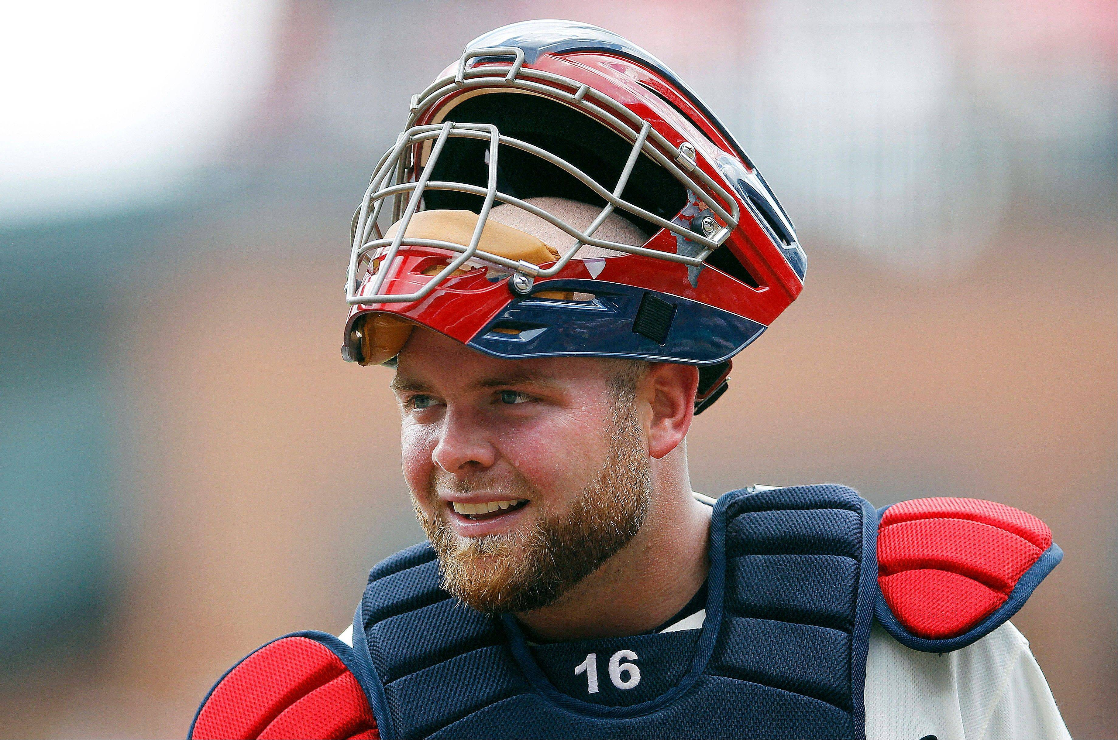 Catcher Brian McCann hit .256 with 57 RBIs in 356 at-bats for Atlanta this season.