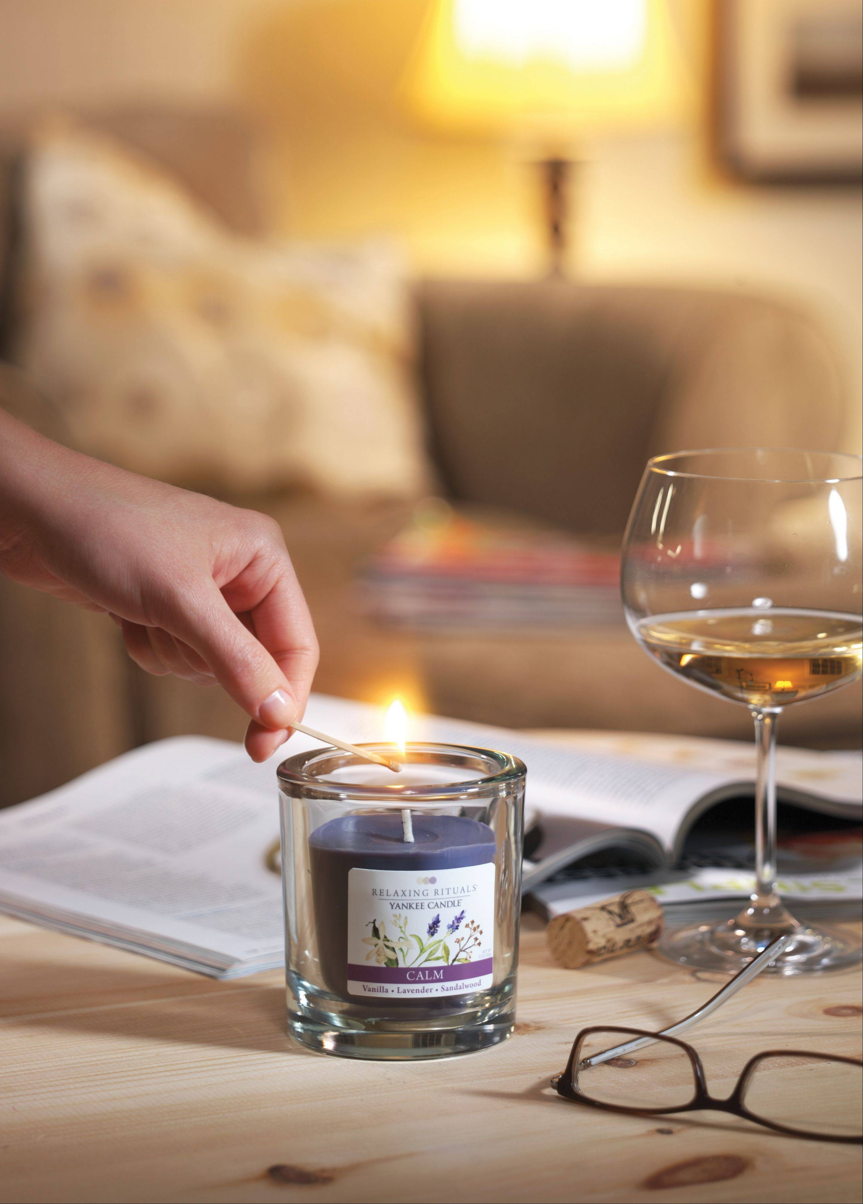 Home fragrancing products also help transform a room. Candles can turn your bath into a calming retreat, or create a holiday atmosphere in your kitchen.
