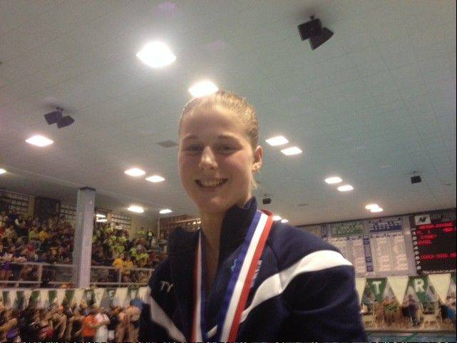Prospect junior diver Dana Liva produced her best state-meet finish yet, taking fourth in Saturday's finals at New Trier.