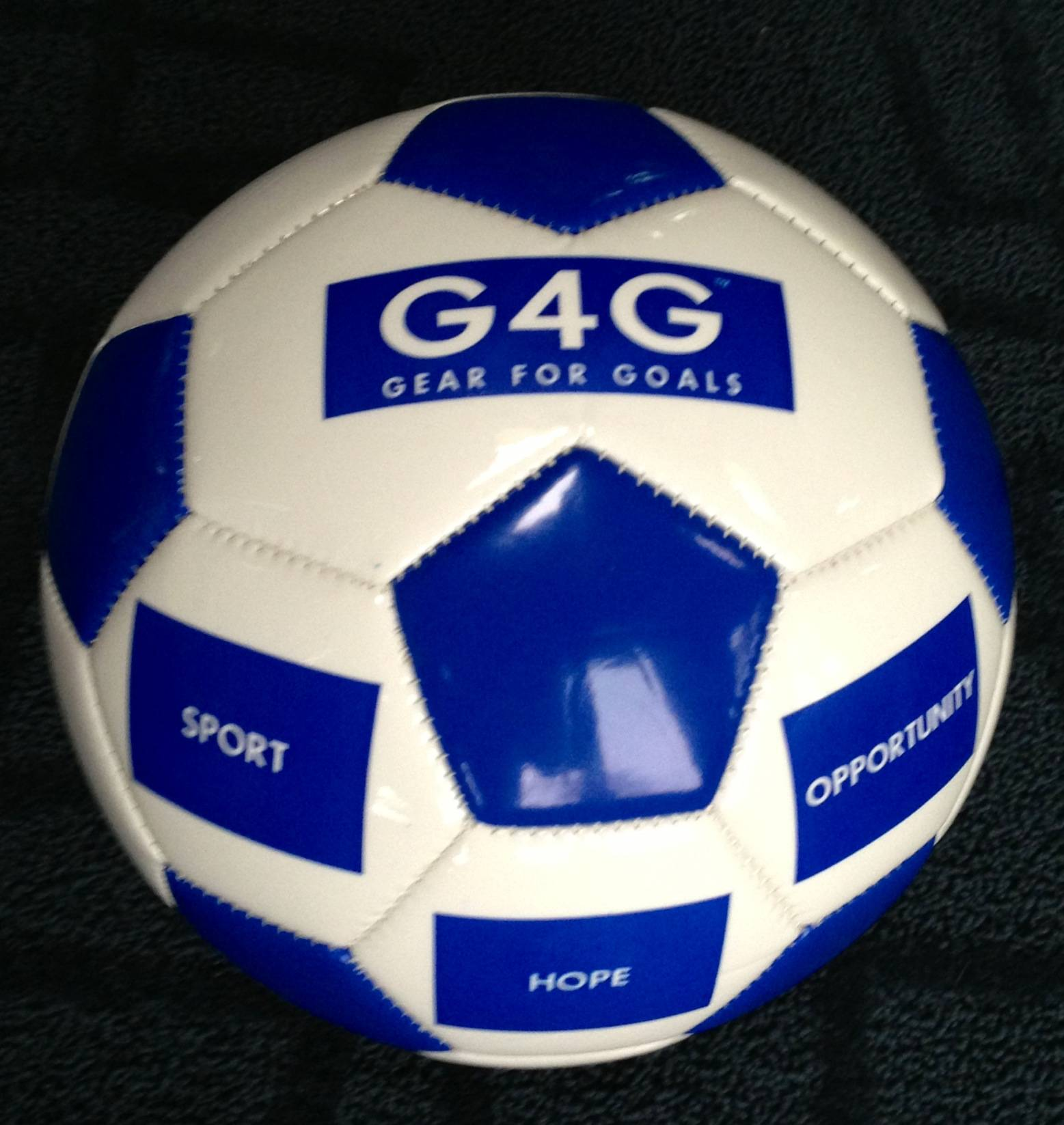 For every soccer ball or dozen baseballs purchased during Gear for Goals' 'One Gives One' campaign, one will be donated to a child in need.