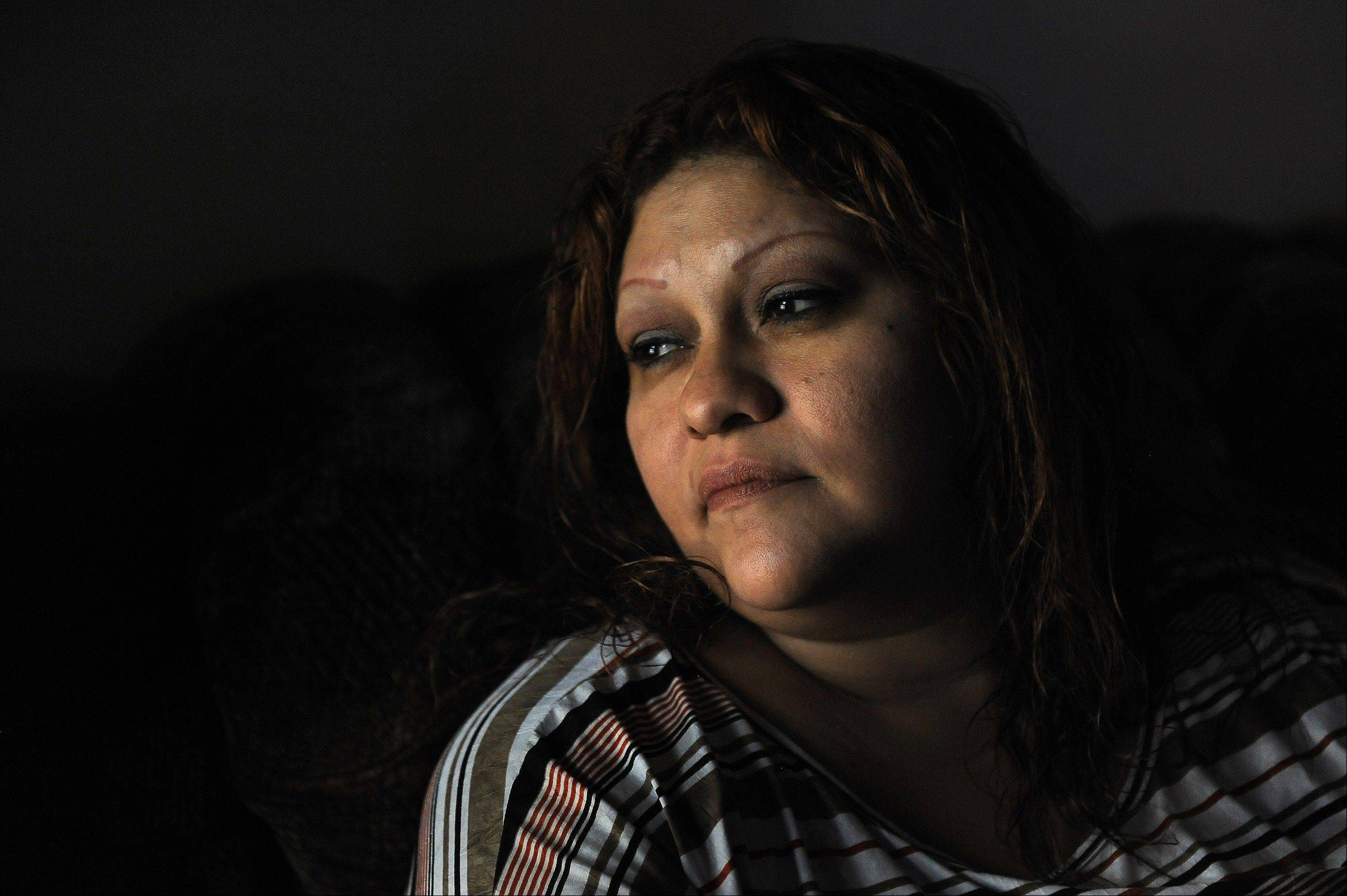 Blanca Salas of McAllen, Texas, is fighting diabetes as she tries to feed her family on $430 in monthly benefits through the Supplemental Nutrition Assistance Program, formerly known as food stamps.
