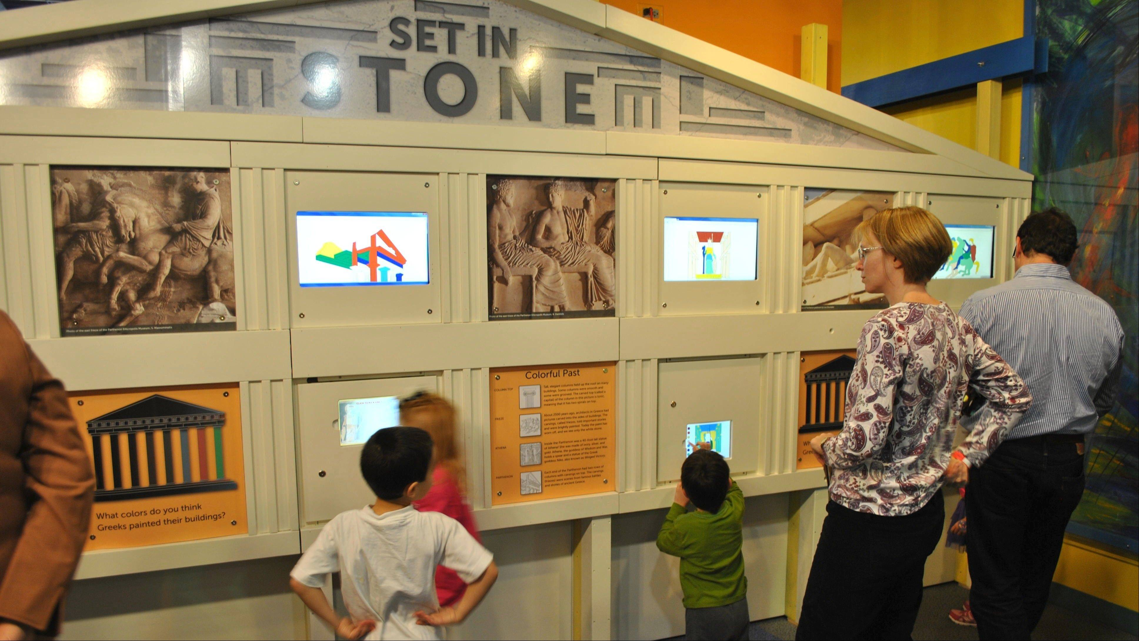 "DuPage Children's Museum revisits ancient structures in the exhibit ""Monumental."""