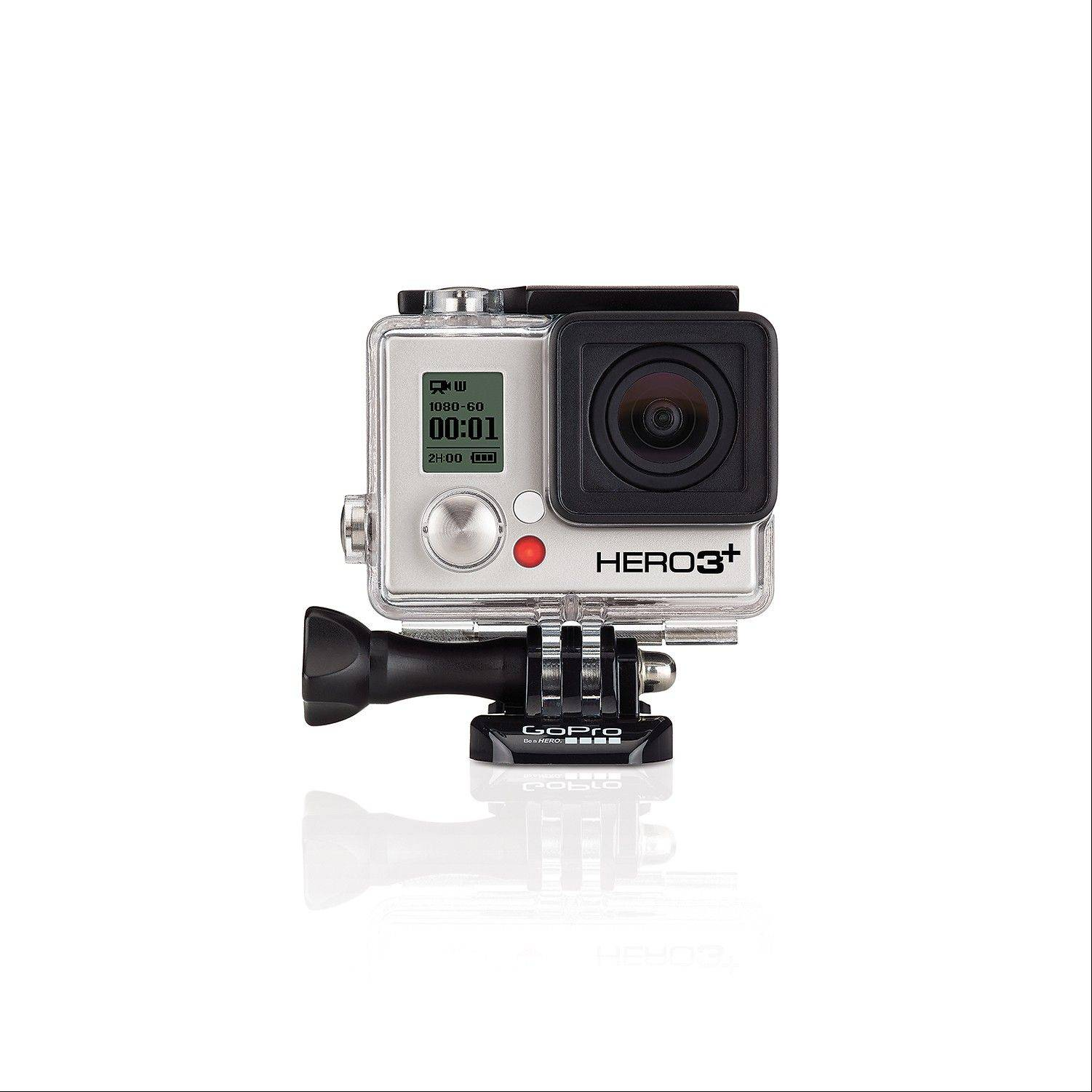 The GoPro digital camera attaches to pretty much anything and can shoot images while you're moving.
