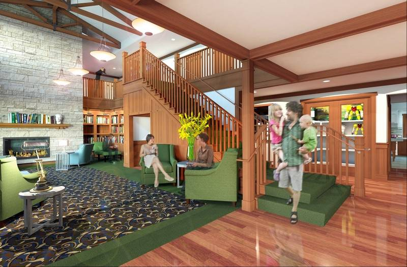 Ronald mcdonald house on track for 2015 opening in winfield for Ronald mcdonald family room