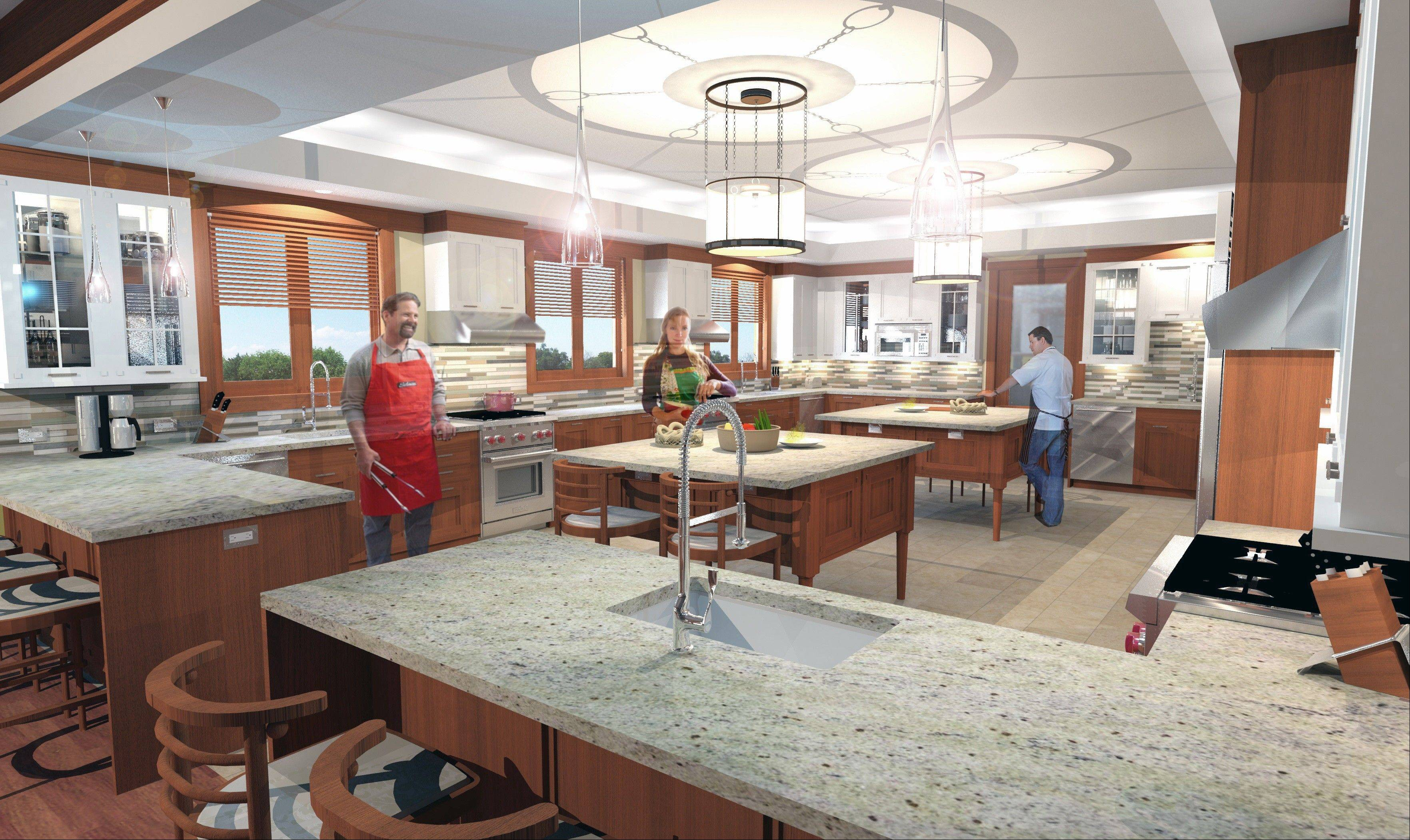 Plans call for the Ronald McDonald House near Cadence Health -- CDH Campus to have a large kitchen that volunteers and families can use to prepare meals.