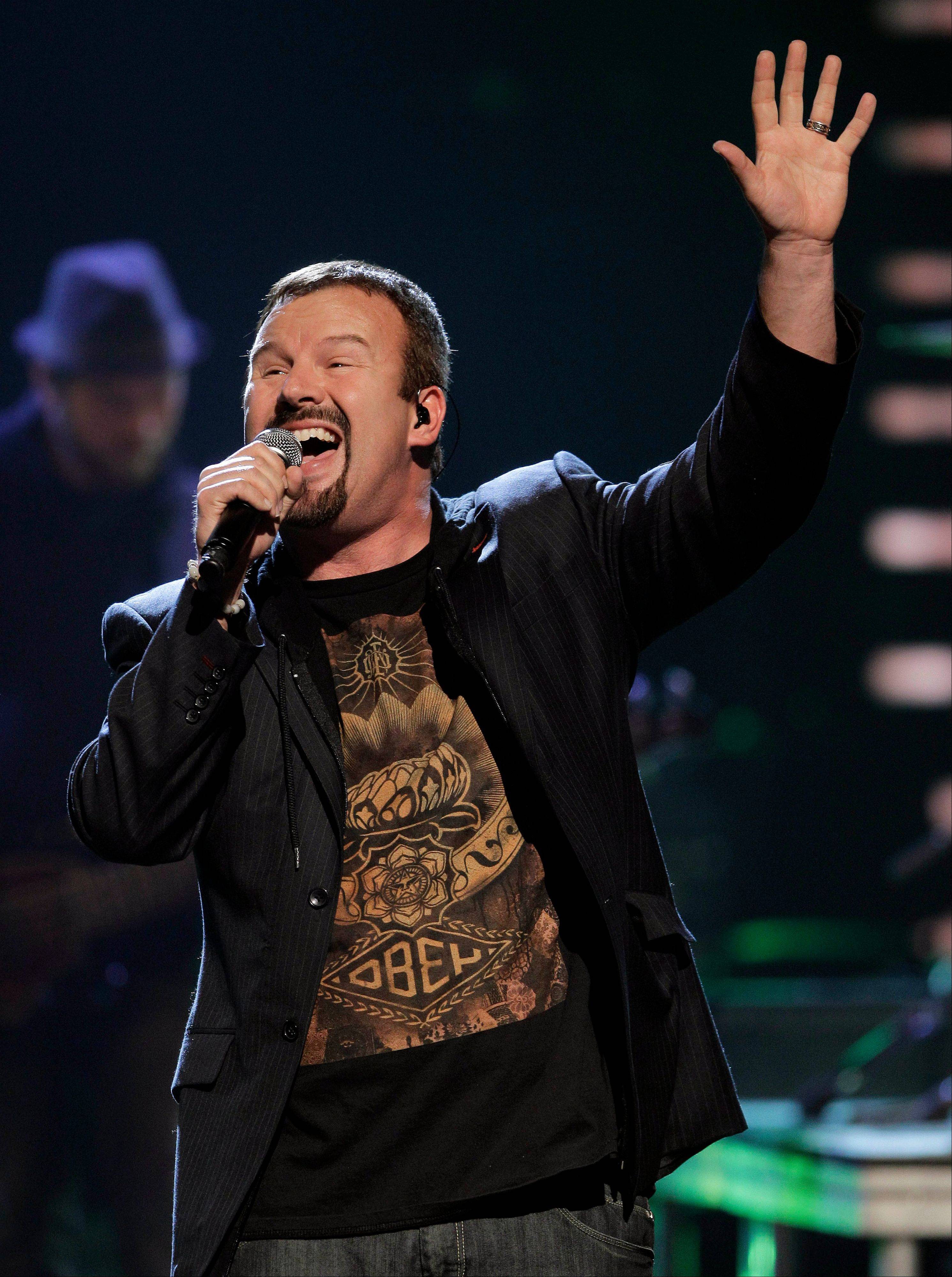 Mark Hall of Casting Crowns comes to the Sears Centre Arena in Hoffman Estates at 7 p.m. Friday, March 14.