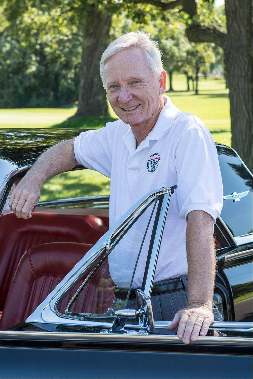 Art Kastl of Darien went to the auto dealership with his father the day he drove this Thunderbird home in 1966.