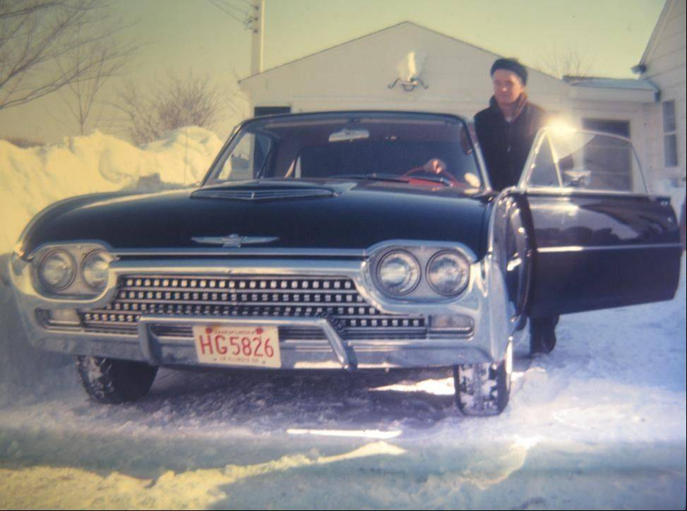Kastl's mother snapped this photograph after the Chicago Blizzard of January, 1967.