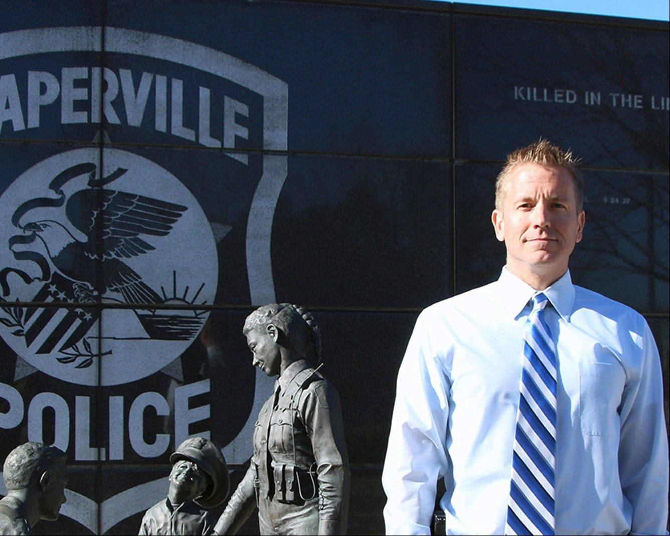 Jason Arres was promoted Monday to the rank of commander in the Naperville Police Department.