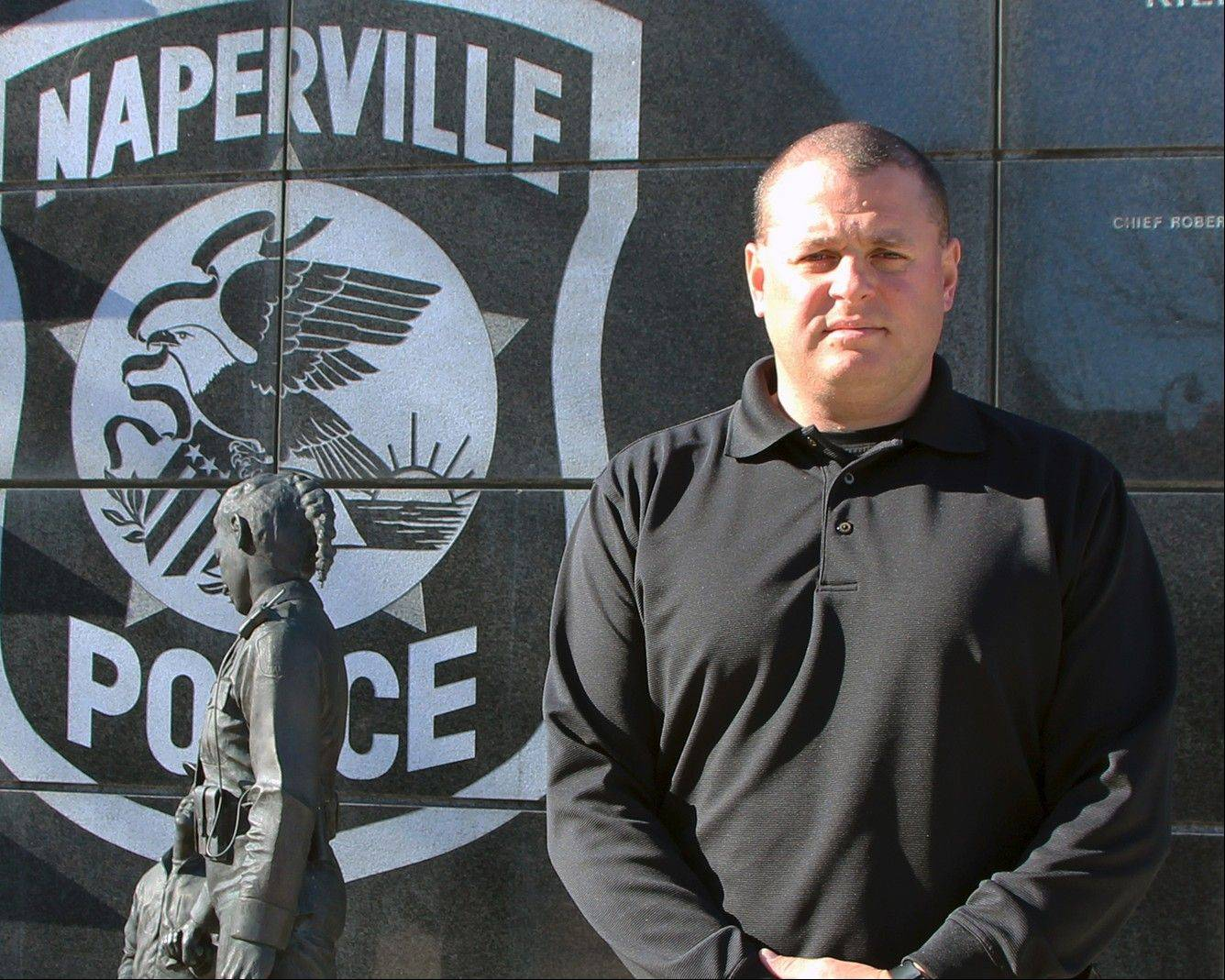 Derek Zook was promoted Monday to the rank of sergeant in the Naperville Police Department.